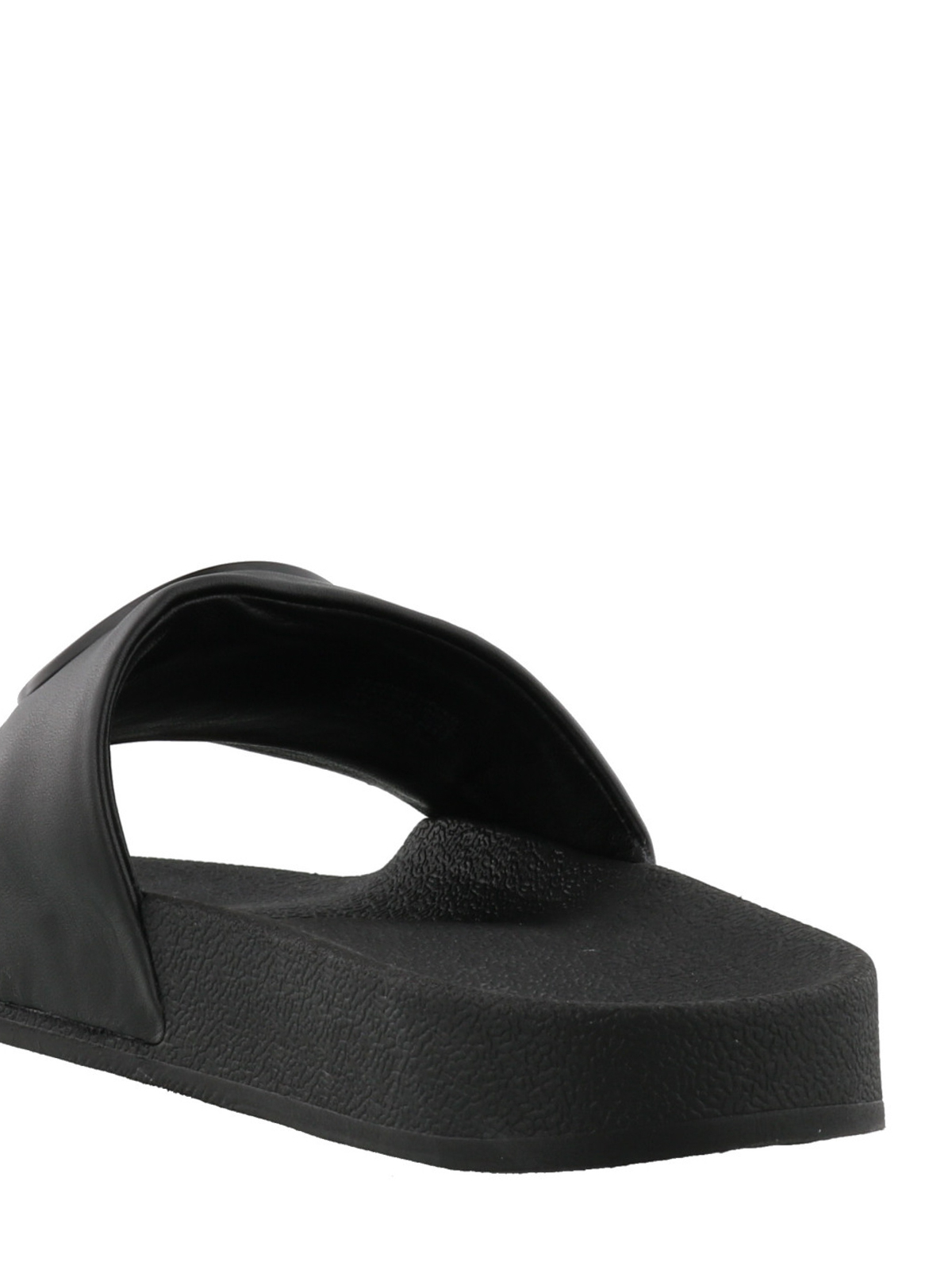 6b5bce6074a Tory Burch - Lina black leather slide sandals - sandals - 45518 001