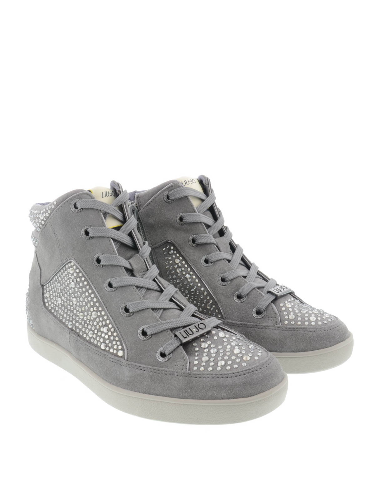 Liu Jo - High top Aura sneakers - trainers - S65113P007950000 ... b53fe280108