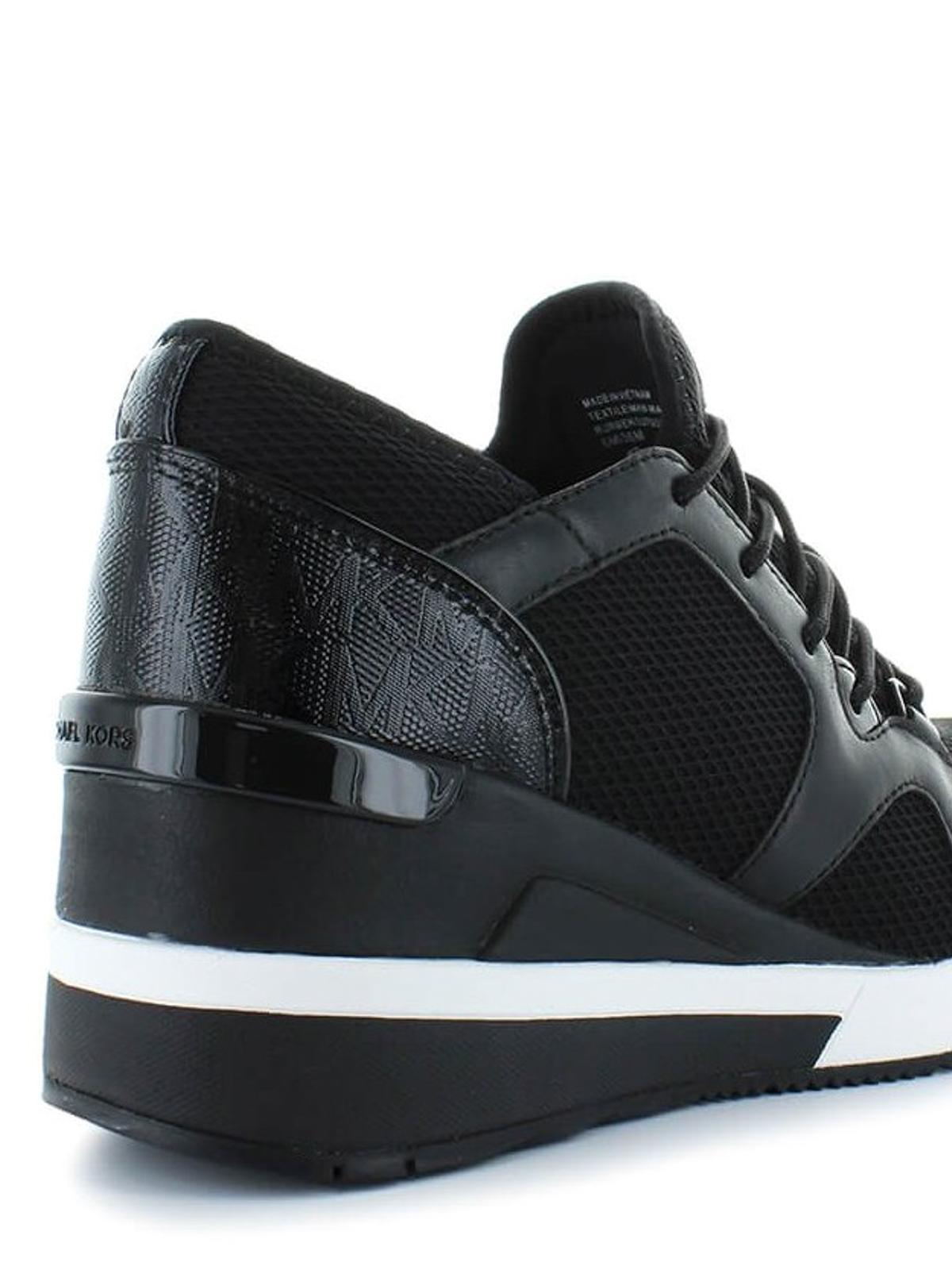 michael kors sneaker schwarz sneaker 43t8scfs1d001. Black Bedroom Furniture Sets. Home Design Ideas