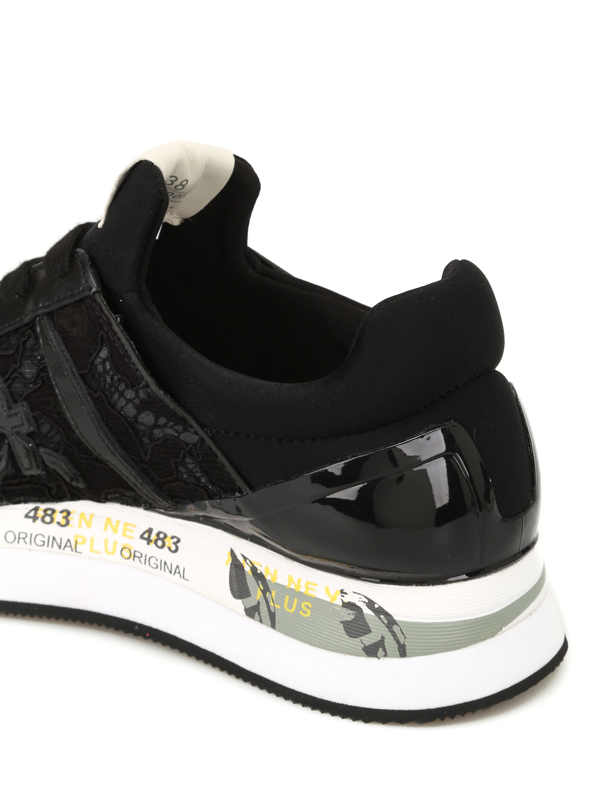 Sale For Sale Liz sneakers - Black Premiata Store For Sale Visit New Free Shipping Shopping Online tOTL8qEq