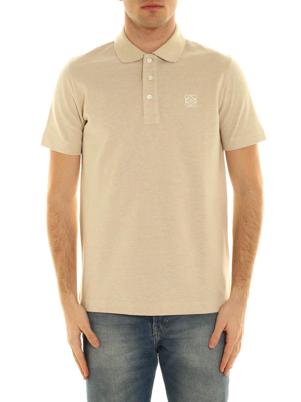 Loewe Embroidered Logo Polo Shirt Polo Shirts H2179820cr2230