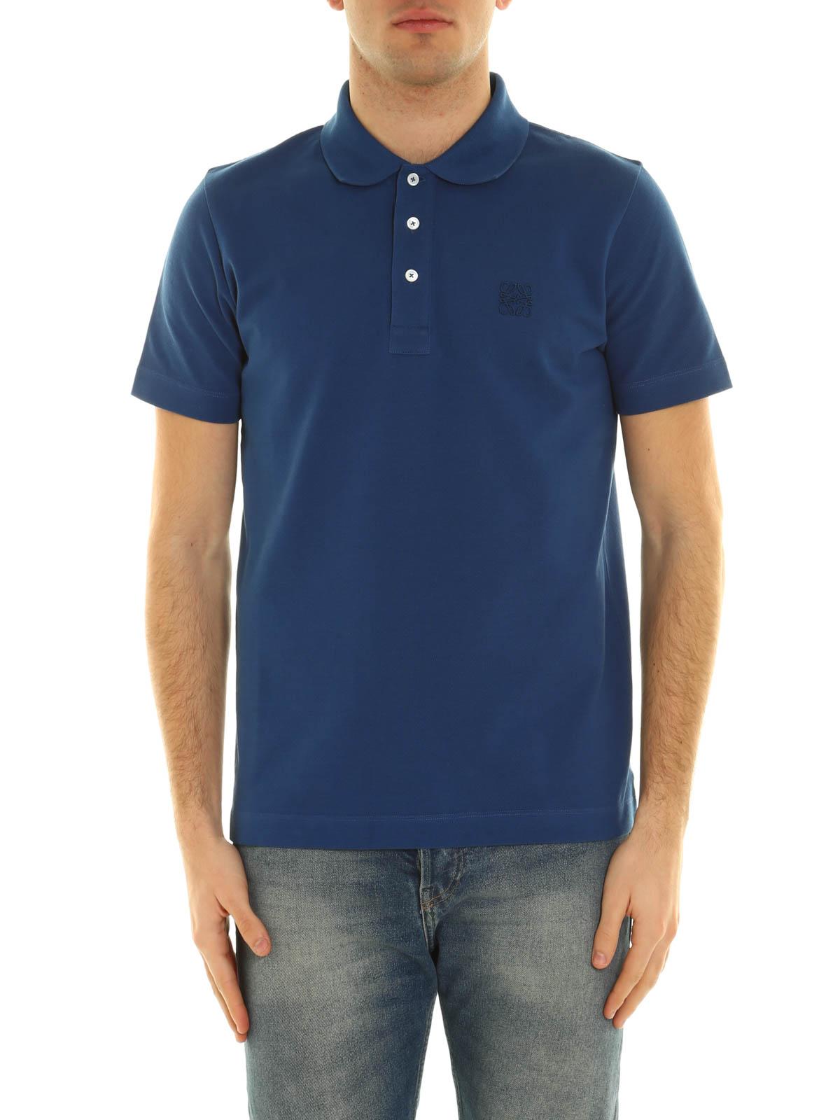 Loewe Embroidered Logo Polo Shirt Polo Shirts H2179820cr5290