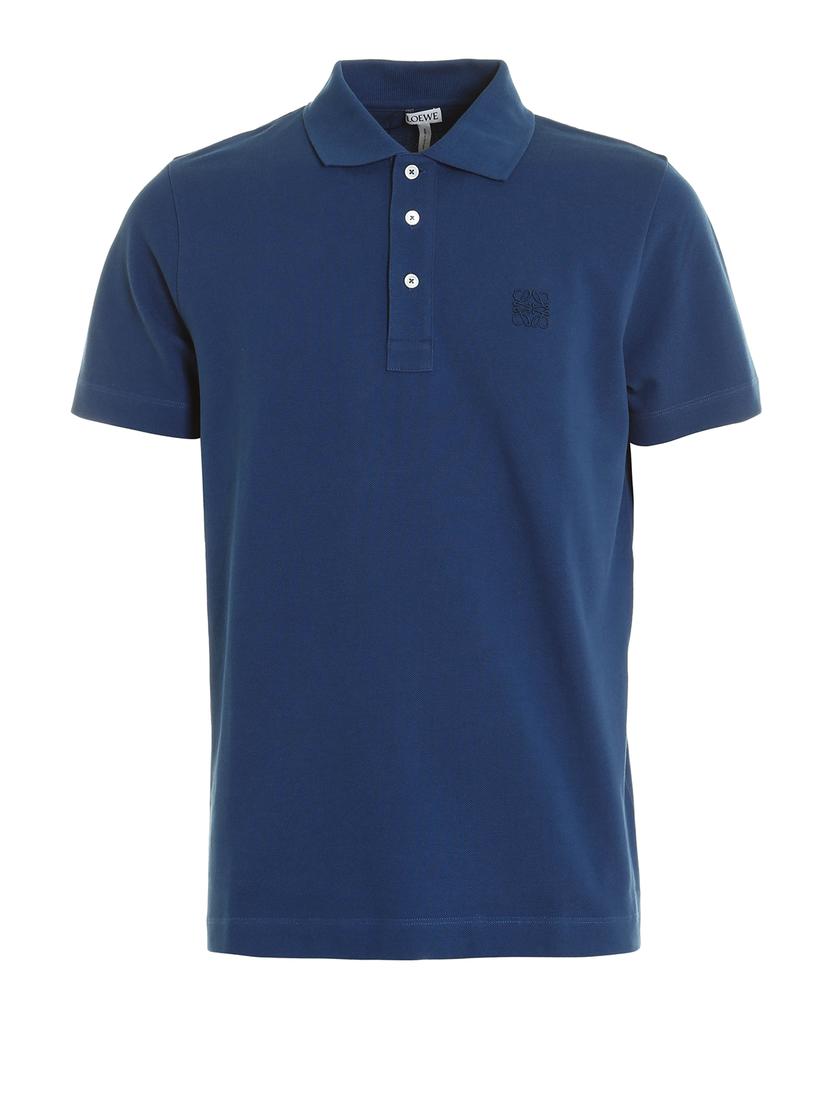 Embroidered logo polo shirt by loewe polo shirts shop for Polo shirts with logos