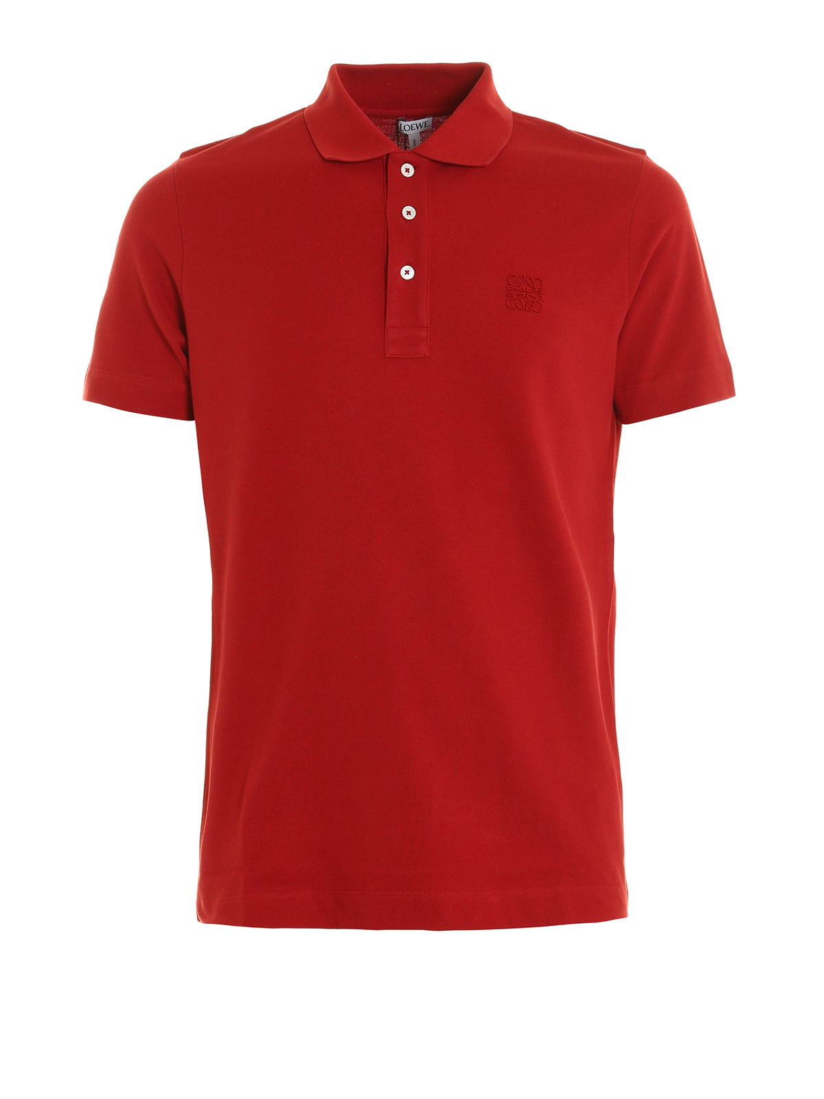 Embroidered logo polo shirt by loewe polo shirts ikrix for Polo shirts with logos