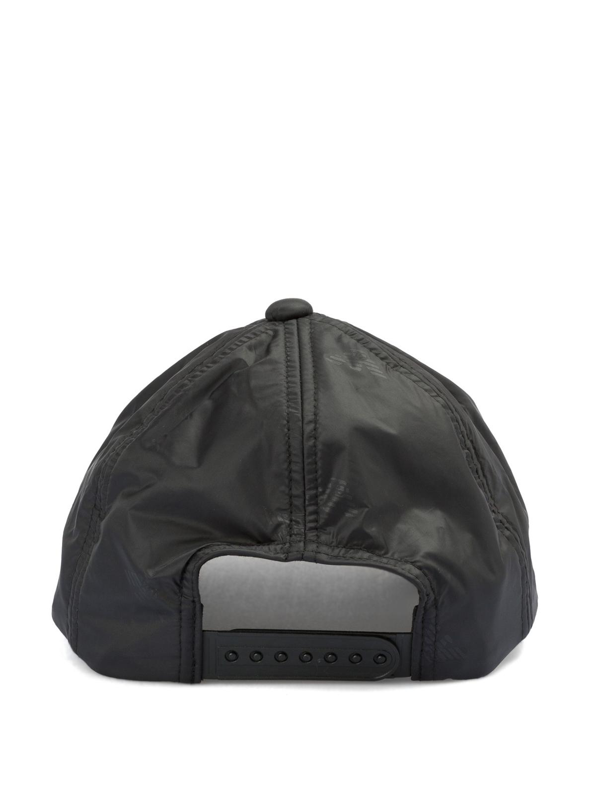 aadd9f0029b Emporio Armani - Logo print nylon baseball cap - hats   caps ...