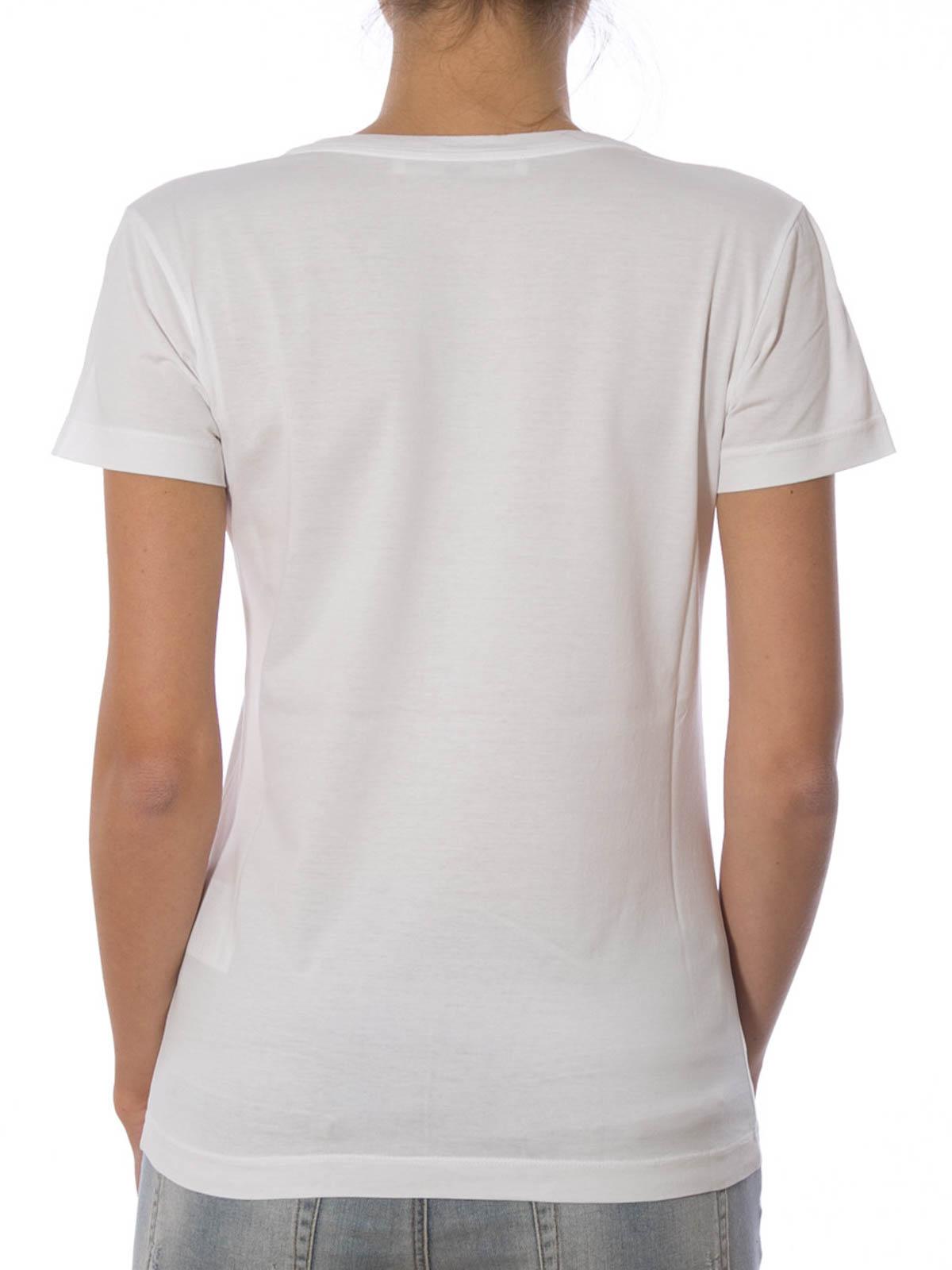 Logo print t shirt by golden goose t shirts ikrix for Printing logos on t shirts