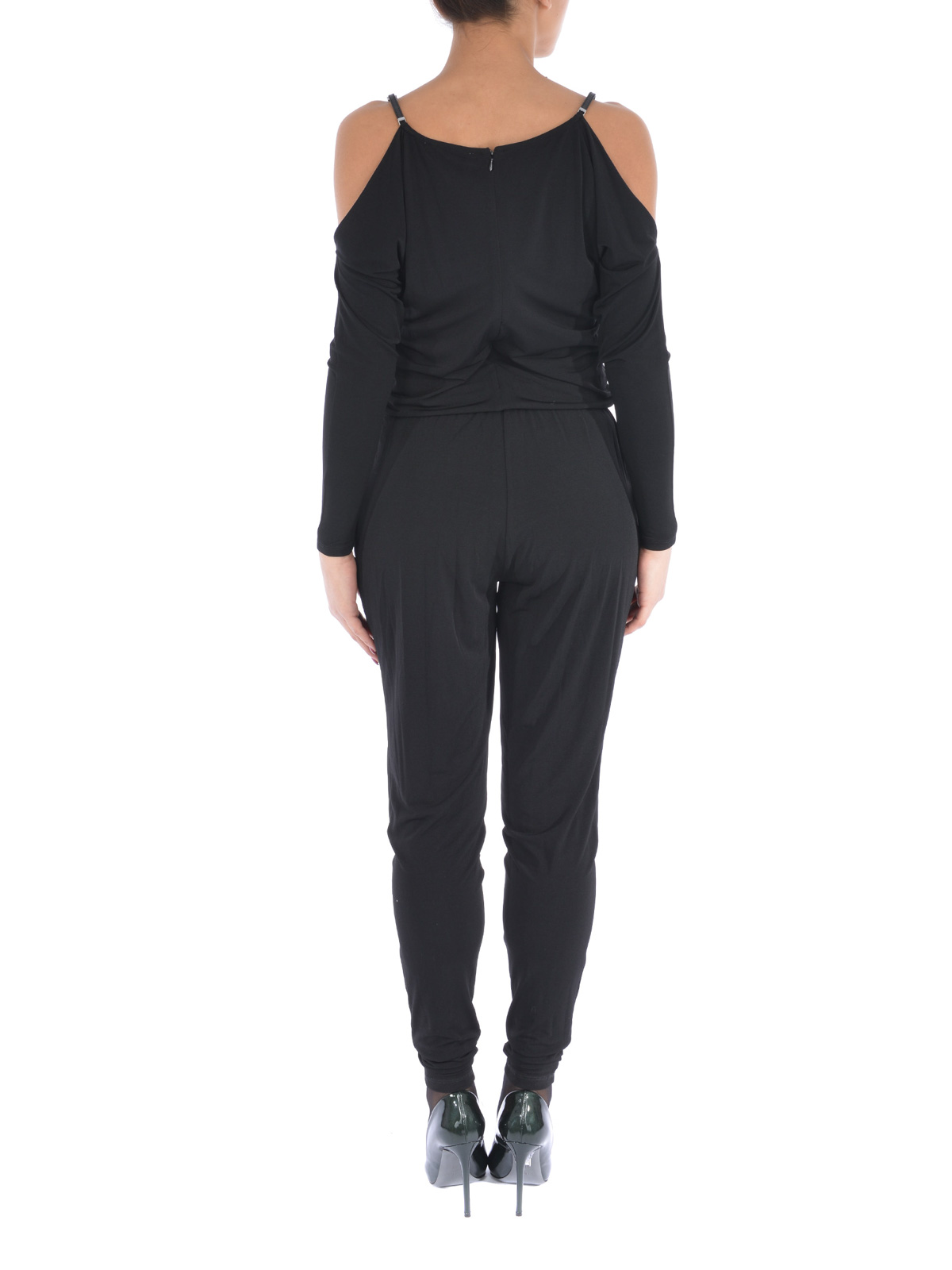 Free shipping BOTH ways on michael michael kors long sleeve chain neck wide leg jumpsuit, from our vast selection of styles. Fast delivery, and 24/7/ real-person service with a smile. Click or call