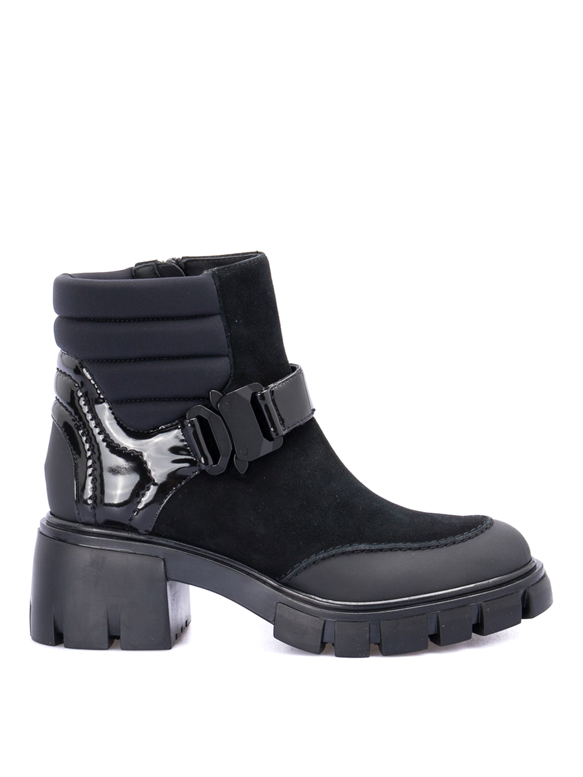 Loriblu PADDED ANKLE COMBAT BOOTS
