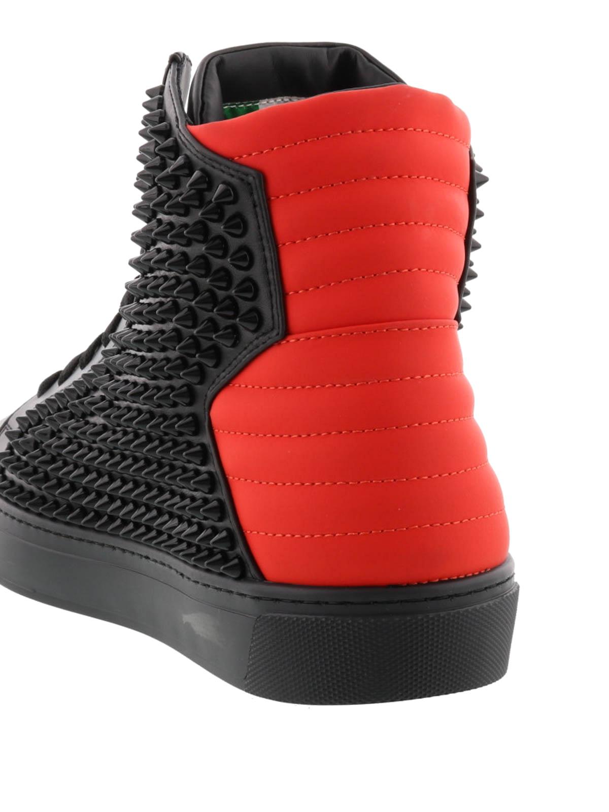 Philipp Plein Sneaker Schwarz Sneaker MSC0576PTE070N02JR