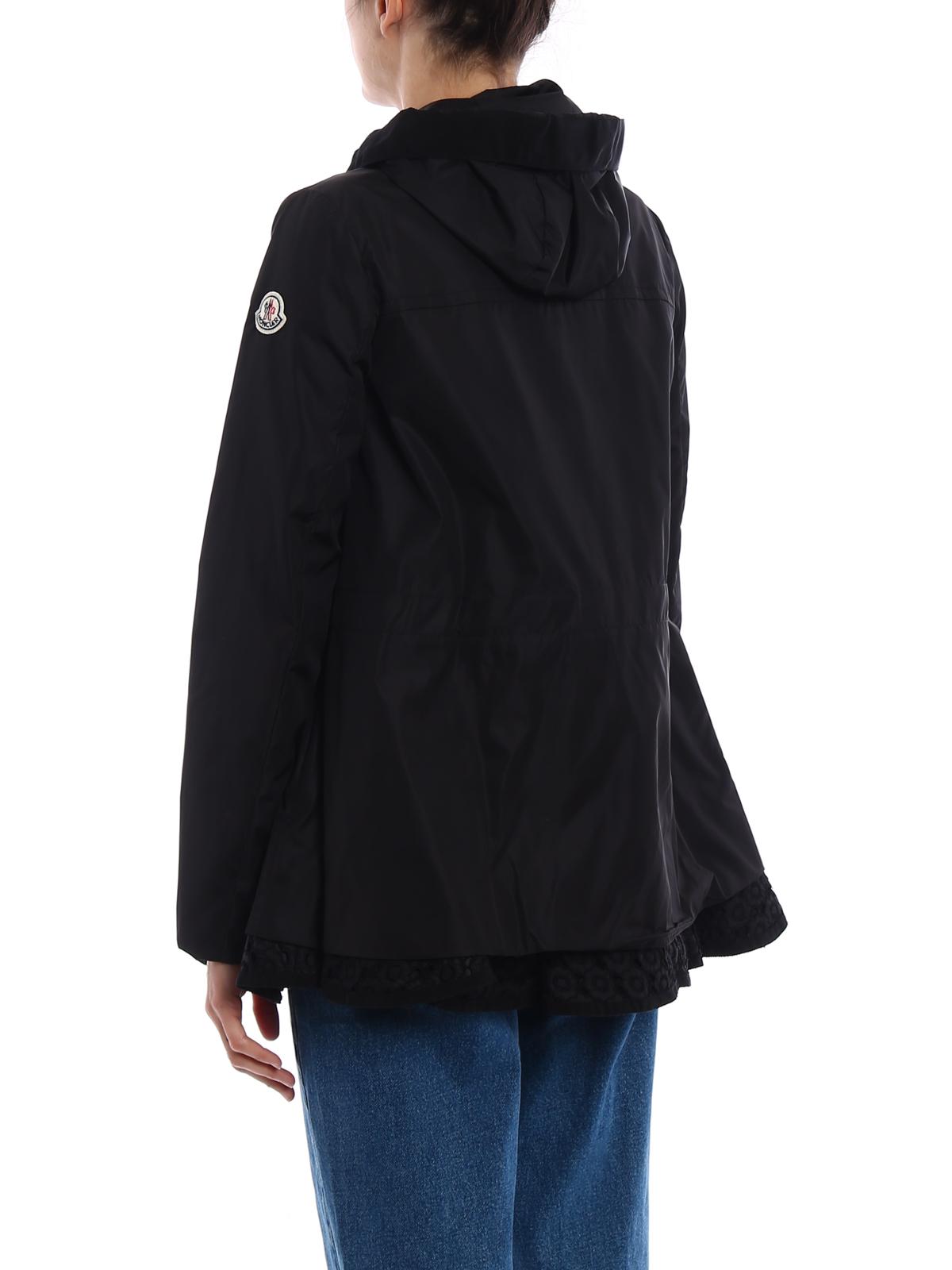 Lotus lightweight short black parka shop online: MONCLER