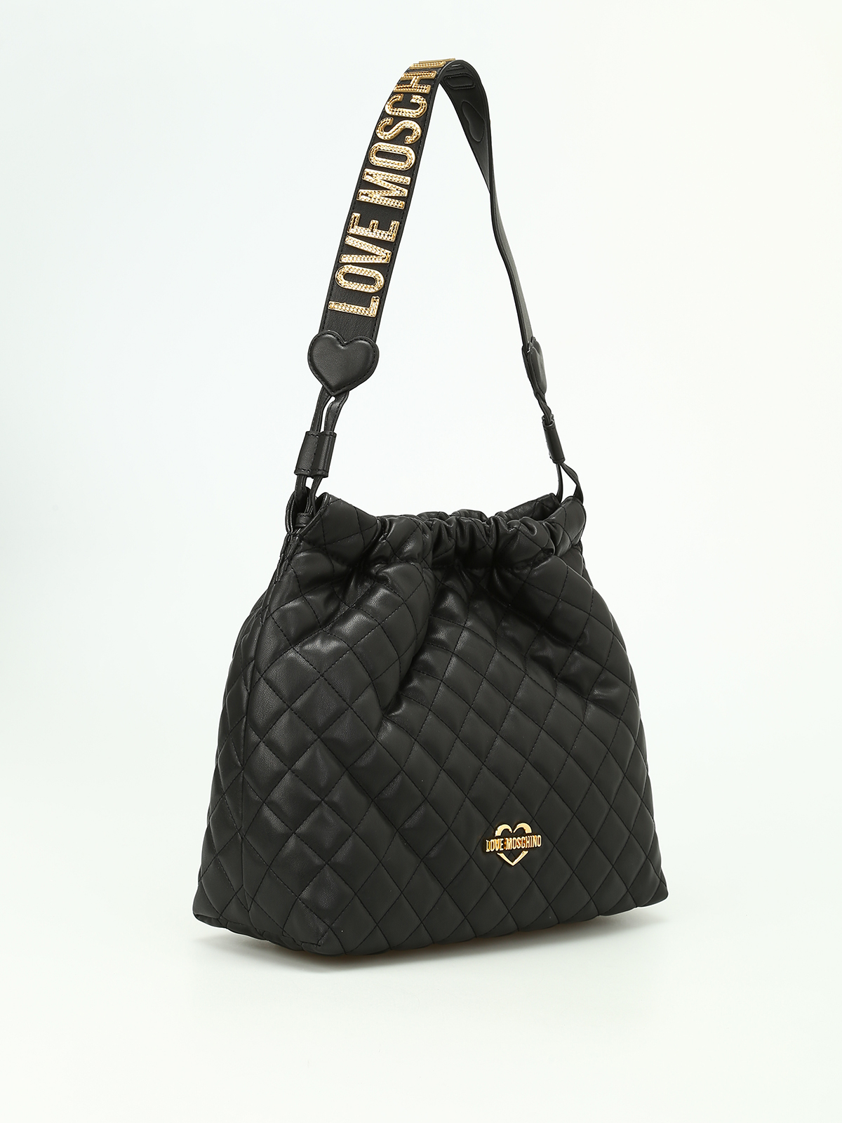 LOVE MOSCHINO  shoulder bags online - Quilted nappa shoulder bag 3c11fa04d8f05