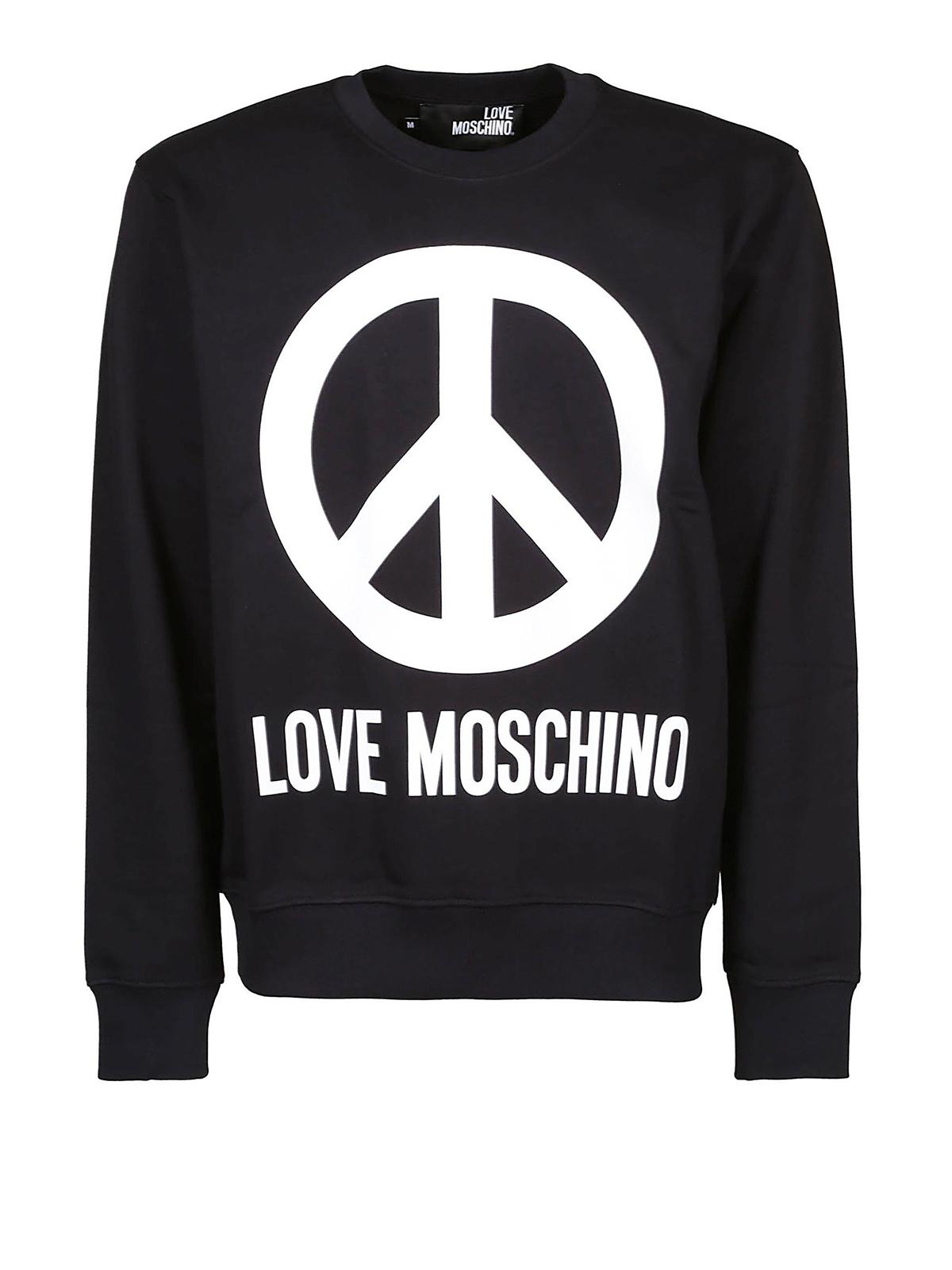 Love Noir Moschino Sweatshirts Pulls Sweat amp; Shirts z7zgwqrZ