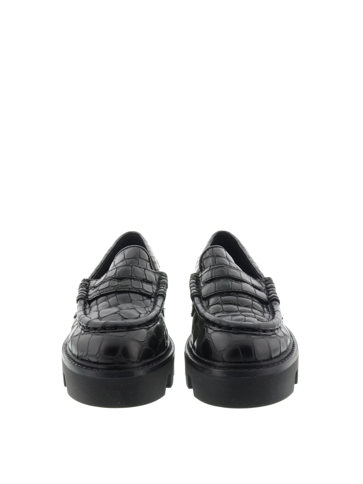 d7c0d153813 Ash - Lug sole Serum Black loafers - Loafers   Slippers - SERUMBLACK