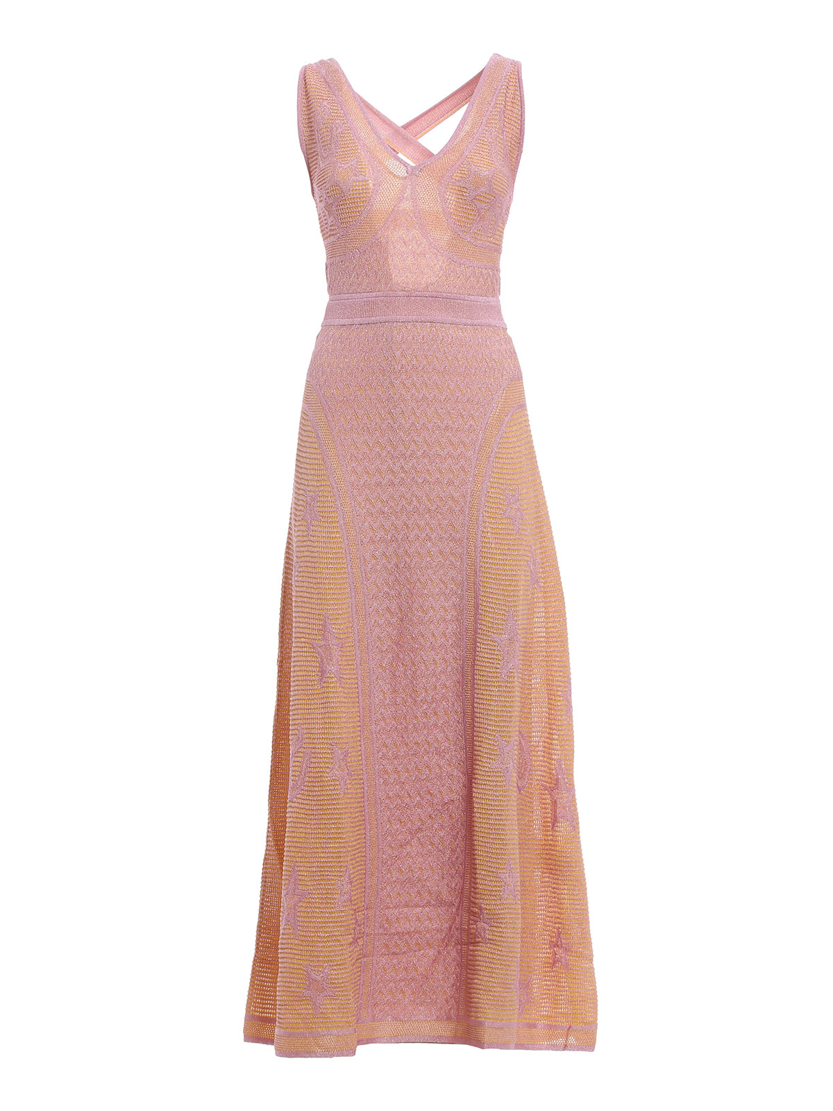 Cage back maxi dress by M Missoni - evening dresses | Shop online at ...