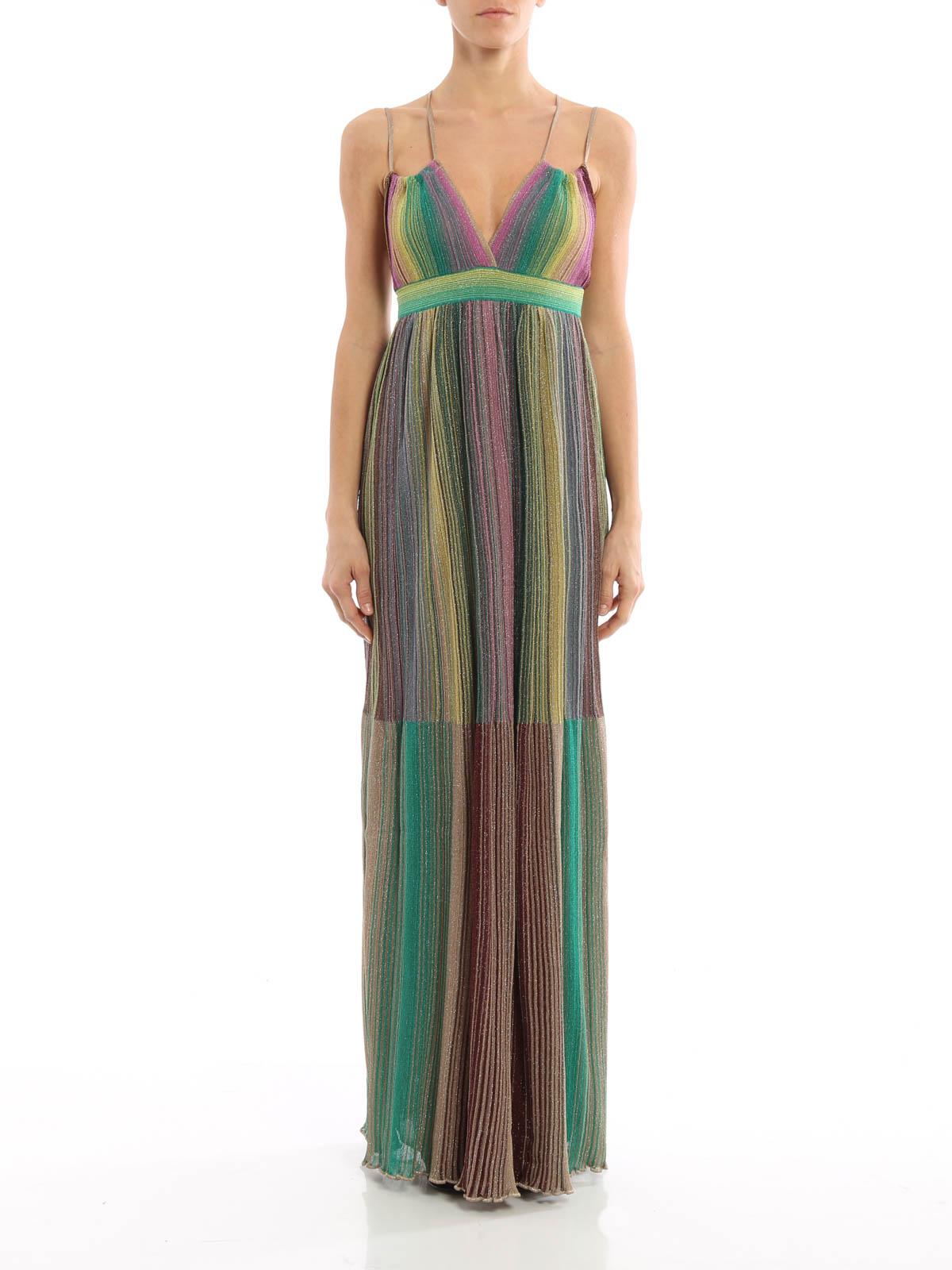 best deals on 08655 b50ea M Missoni - Maxi abito cangiante e sfumato - abiti lunghi ...