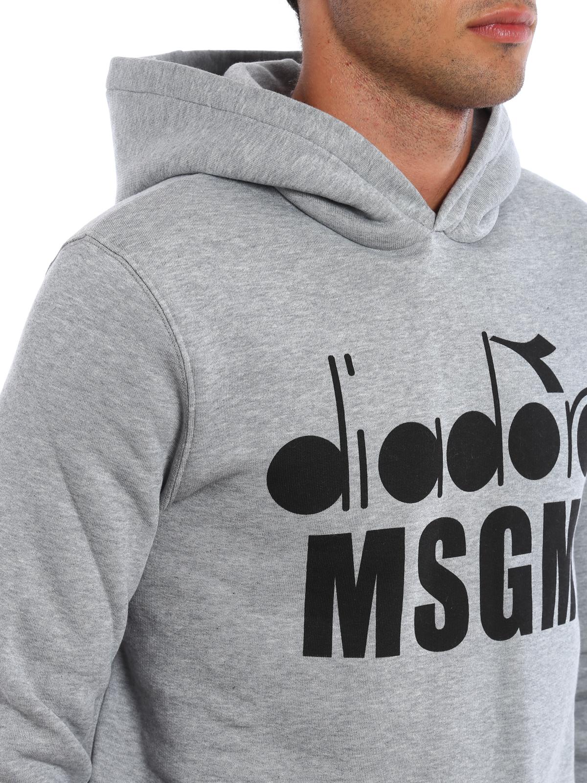 9fd7f70d96 M.S.G.M. - Diadora MSGM hoodie - Sweatshirts & Sweaters ...