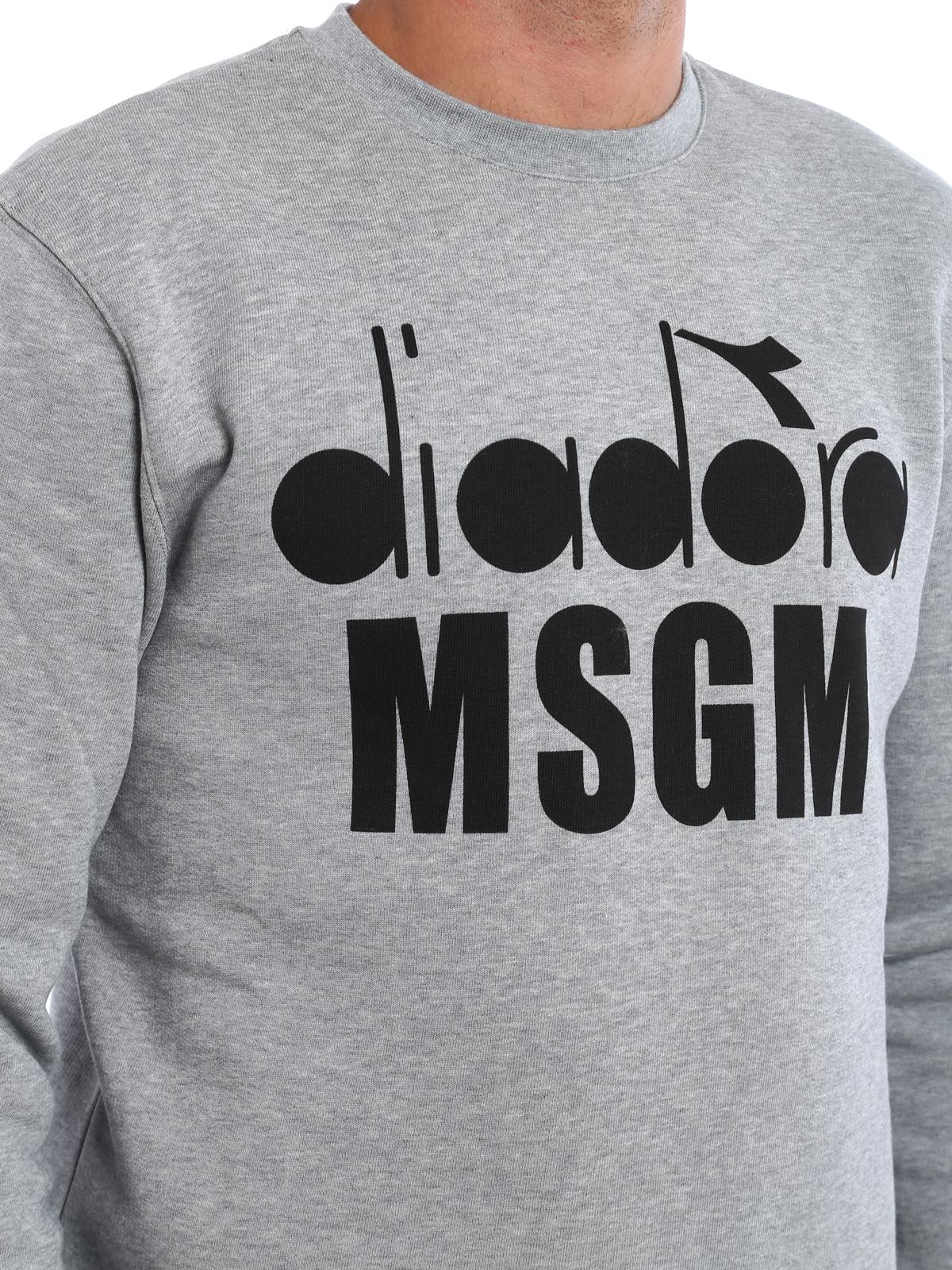 Msgm Diadora E Maglie M Felpe g 2340mm30117477796 s m Felpa q166XgwI