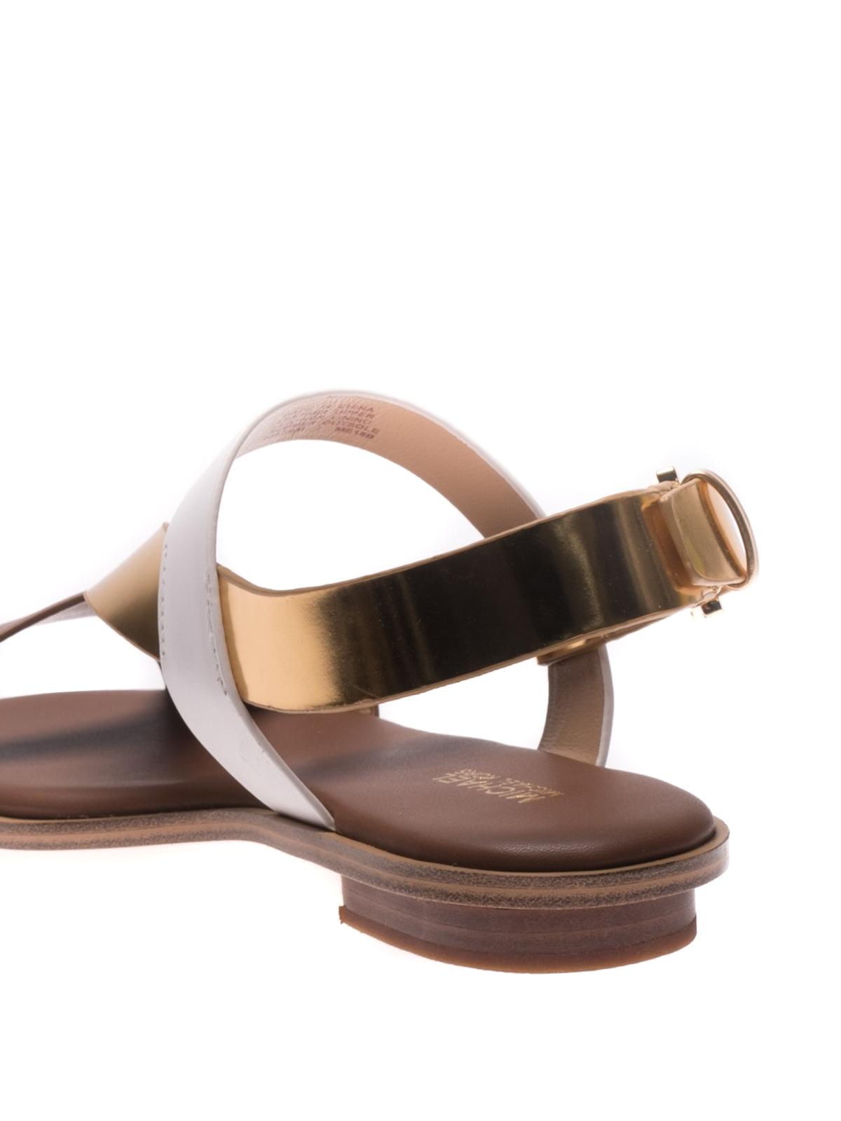 311e3eece3 Michael Kors - Mackay leather sandals - sandals - 40S8MCFA2L 231