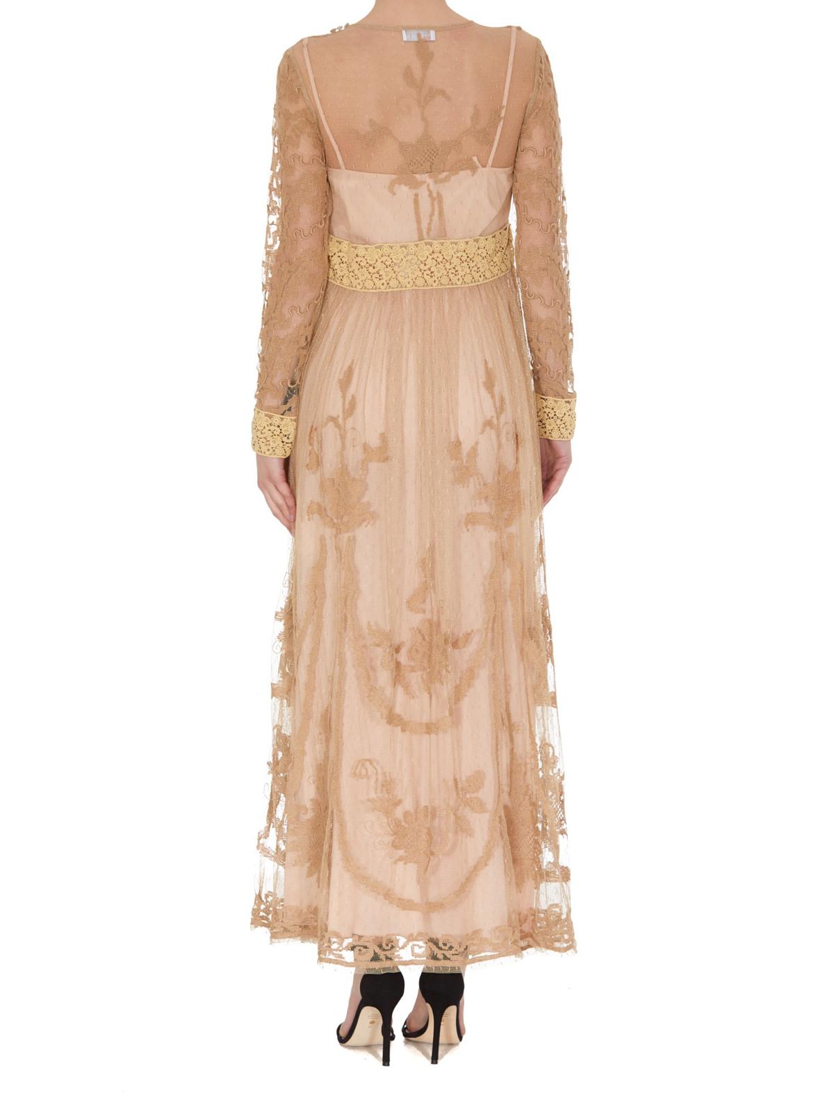 Valentino Red - Abendkleid - Beige - Abendkleider - TR10VA10X10N10