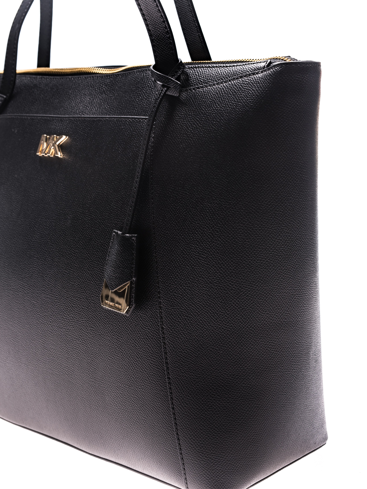 1e0b1c283844 Michael Kors - Maddie hammered leather tote - totes bags - 30S8GN2T9L001