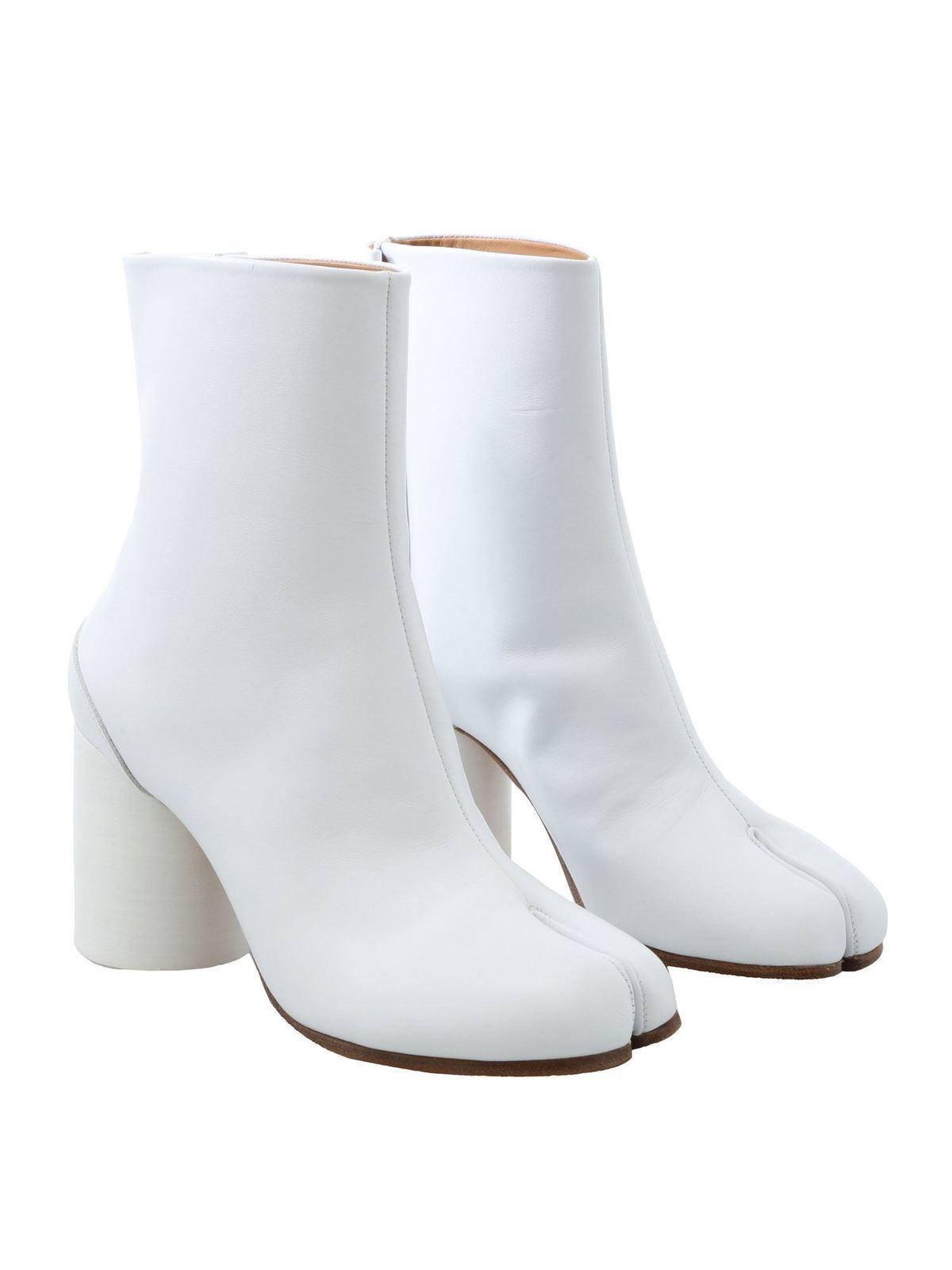 Maison Margiela - White Tabi ankle