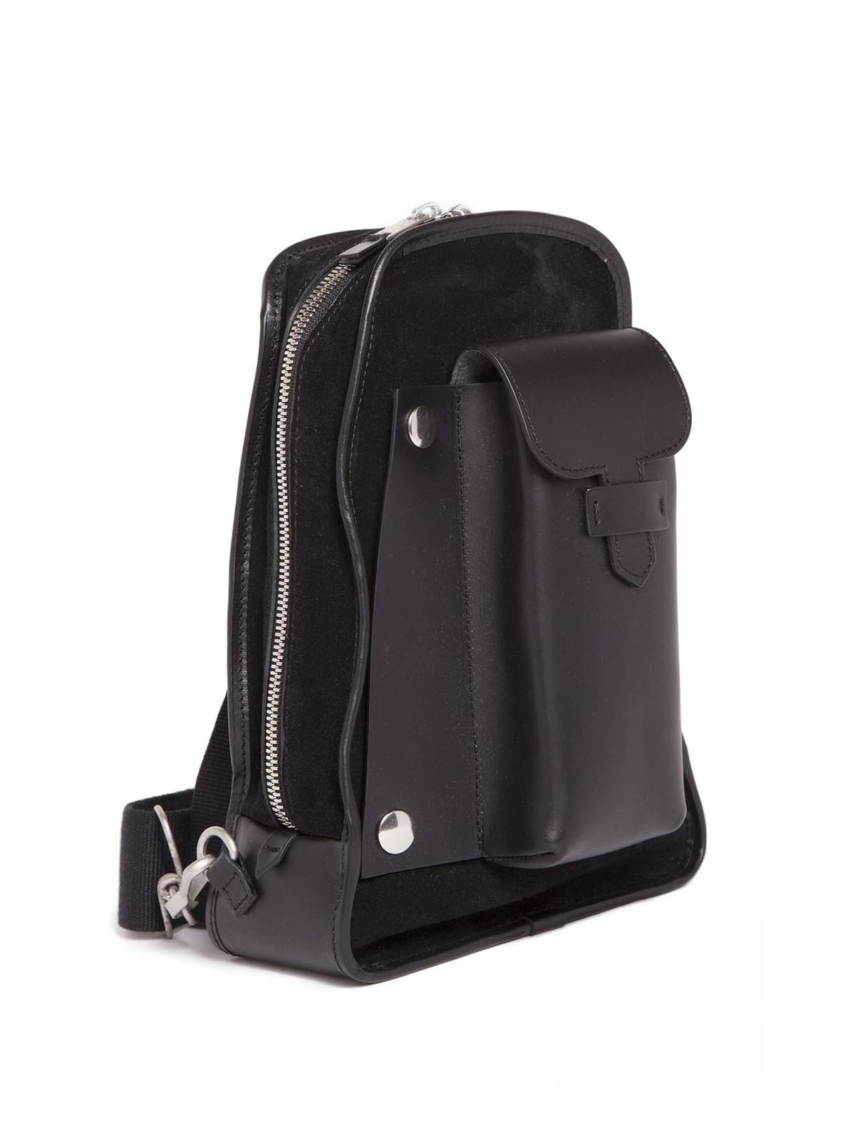 f34f73cf6b Maison Margiela  backpacks online - Leather suede one shoulder backpack
