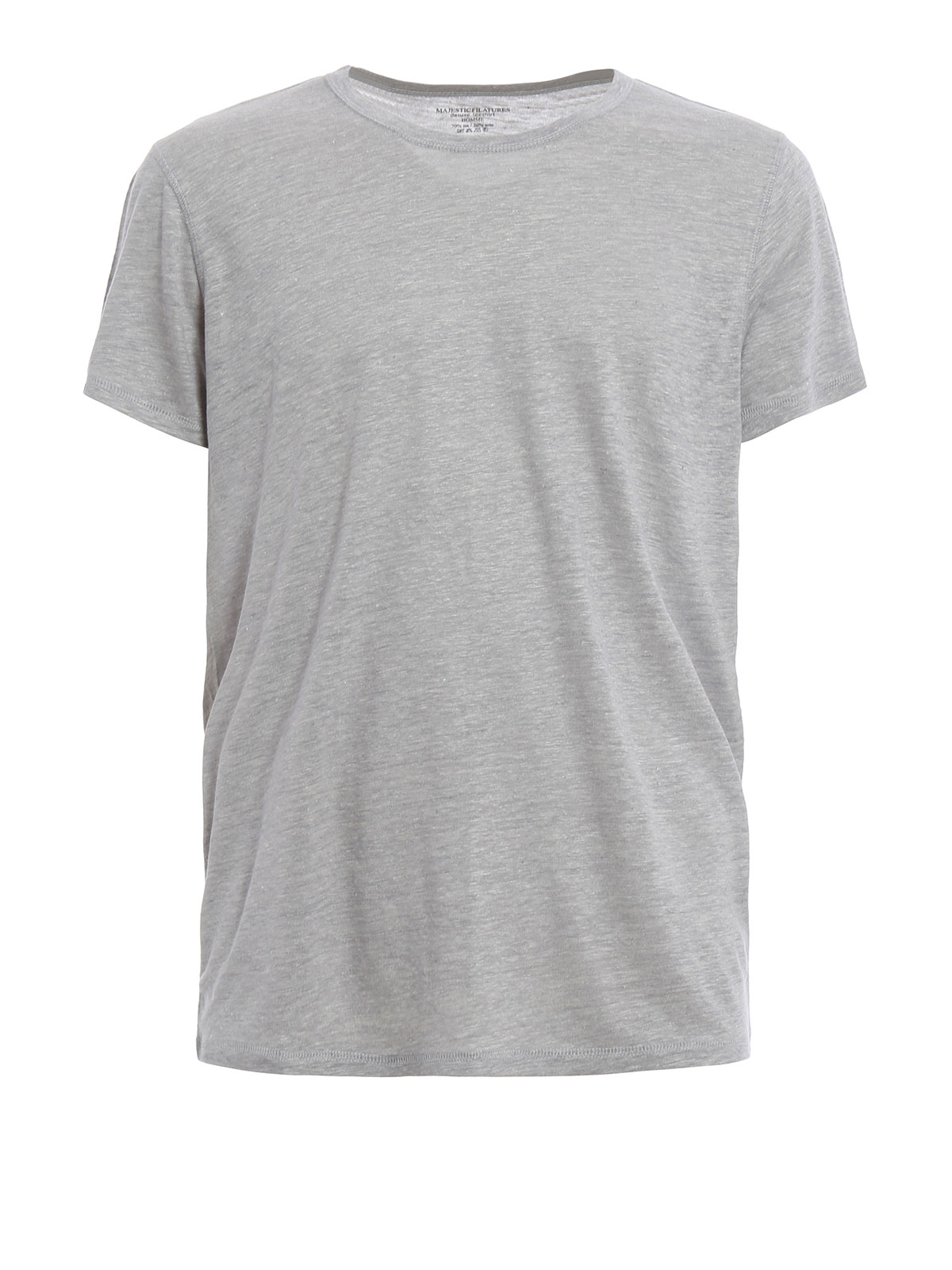 Linen And Silk T Shirt By Majestic Filatures T Shirts