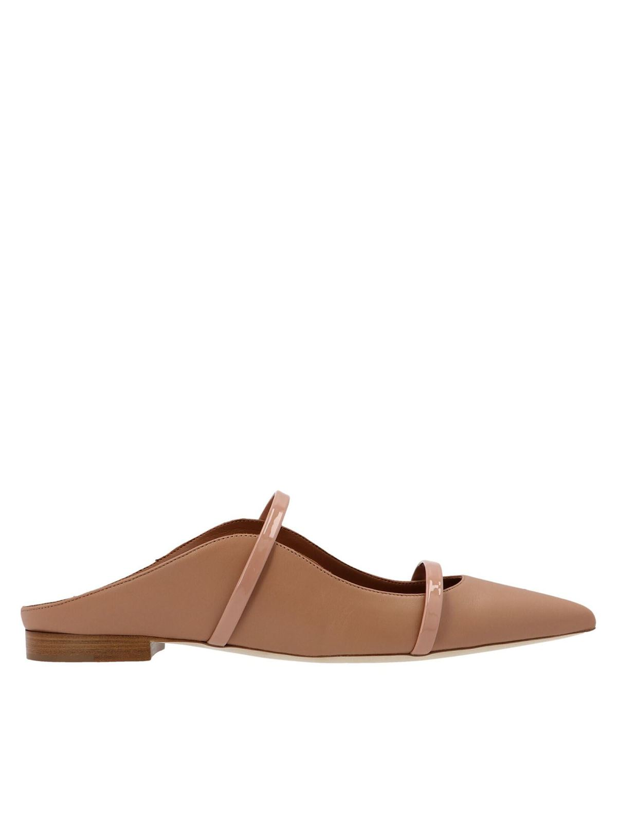 Malone Souliers MAUREEN MULES IN NUDE BLUSH