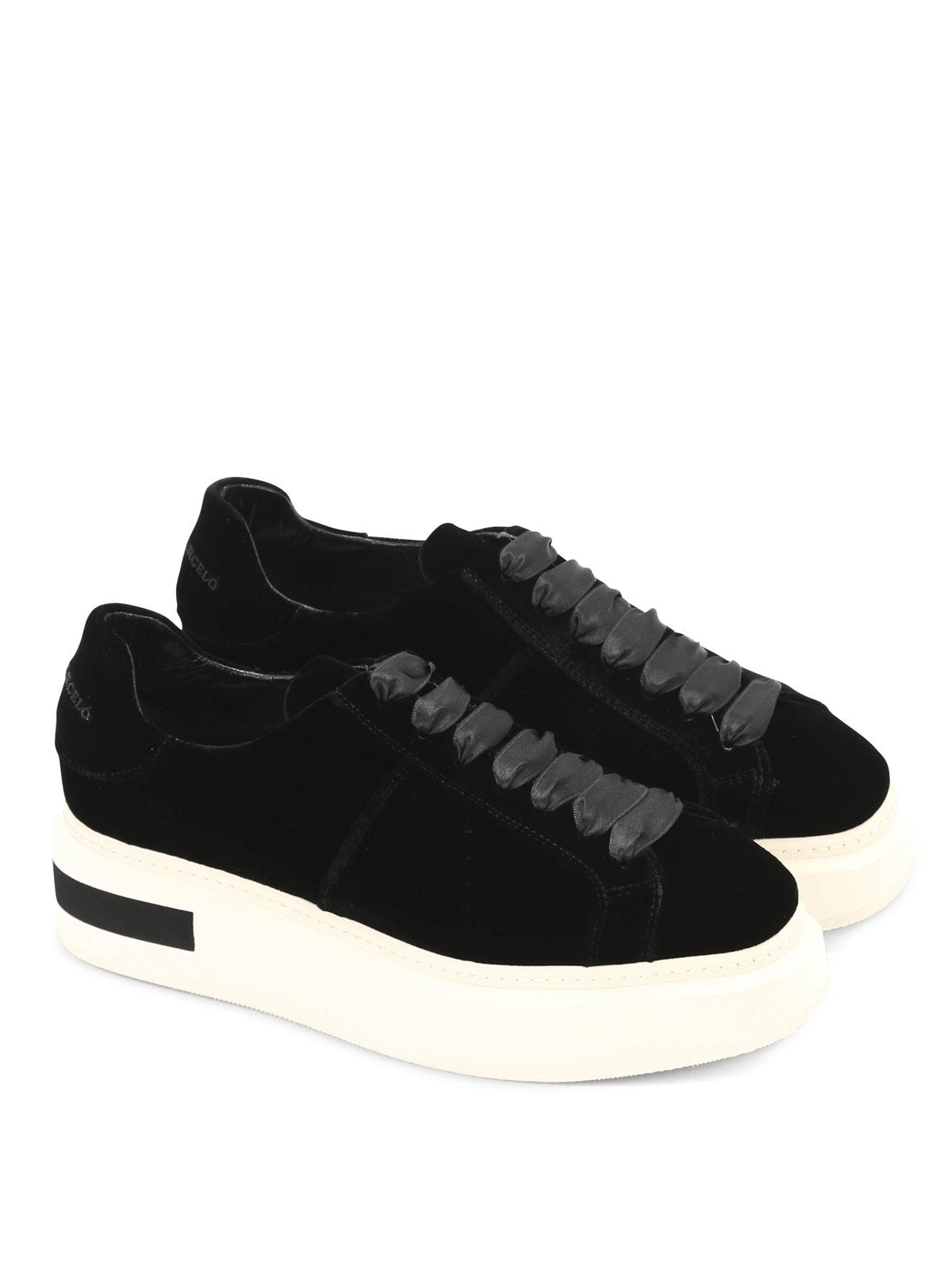 Buy Cheap Brand New Unisex Discount How Much Manuel Barcelò Velvet Sneaker CCZSoOFWh