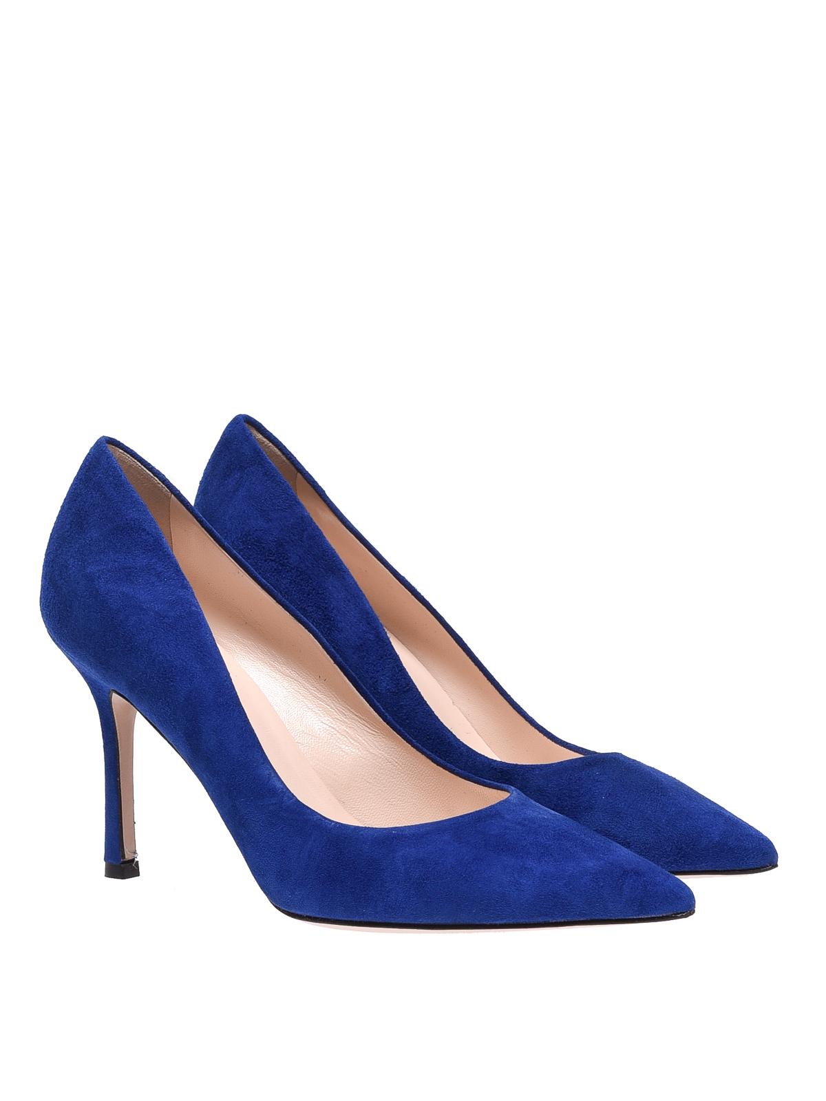 Marc Ellis - Royal blue suede pumps