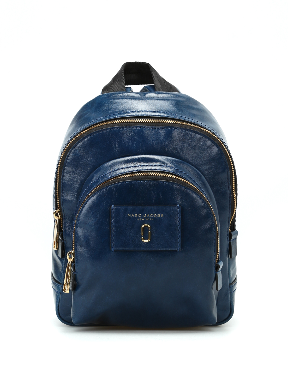 crackle blue leather mini backpack by marc jacobs. Black Bedroom Furniture Sets. Home Design Ideas
