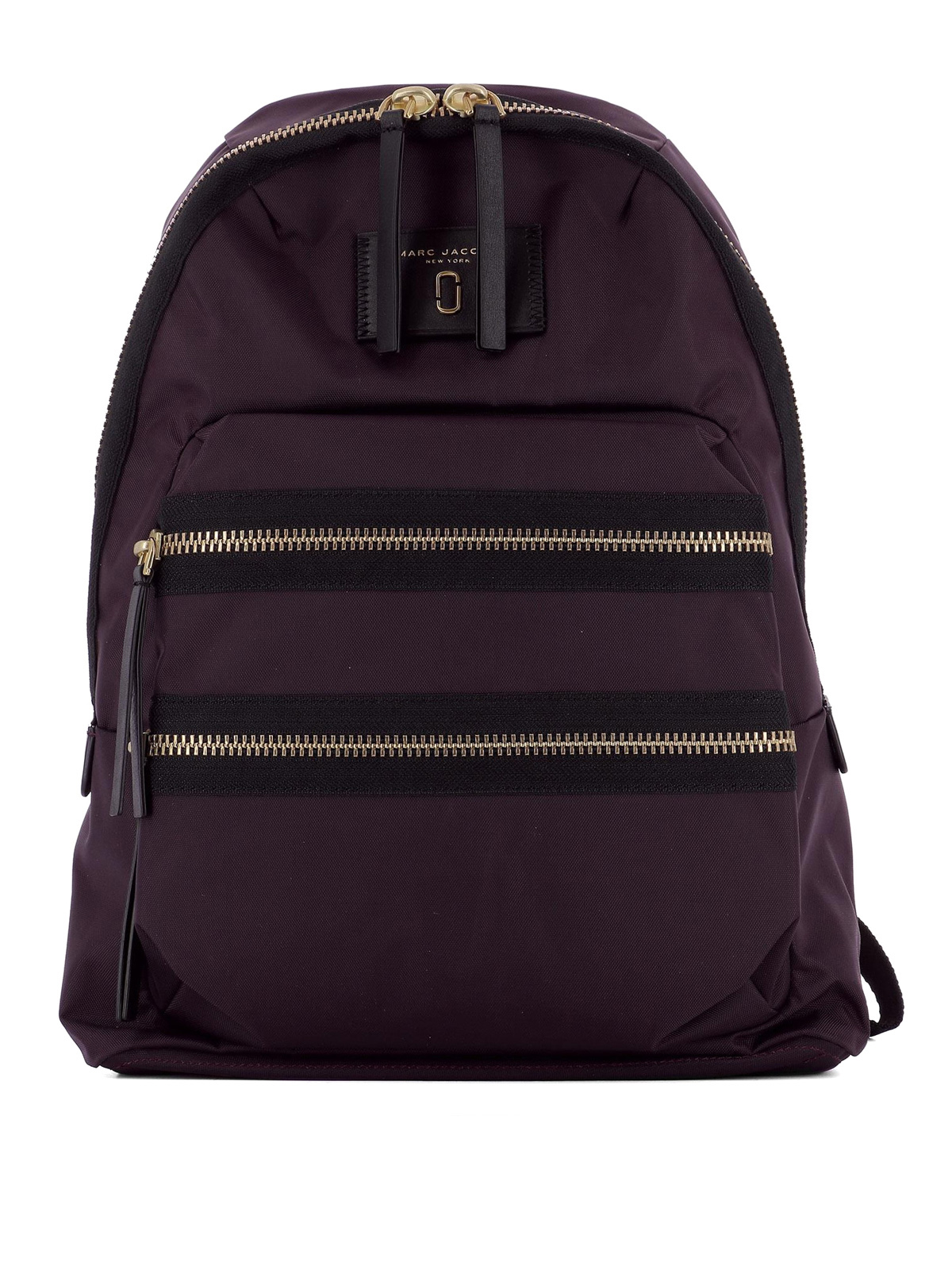 multi zip nylon backpack by marc jacobs backpacks ikrix. Black Bedroom Furniture Sets. Home Design Ideas