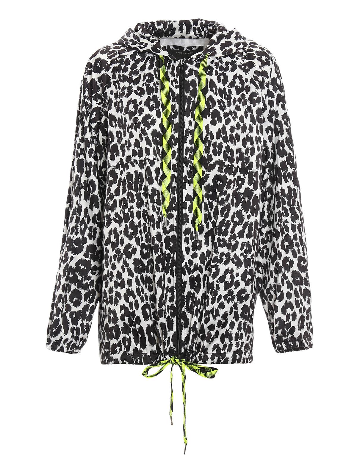 leo print rain jacket by marc jacobs casual jackets ikrix. Black Bedroom Furniture Sets. Home Design Ideas