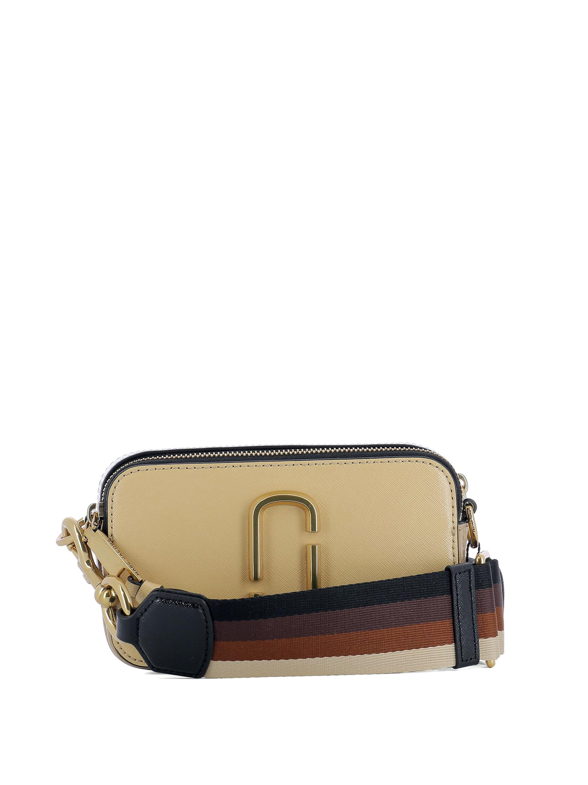 Snapshot coated leather small bag by Marc Jacobs ...