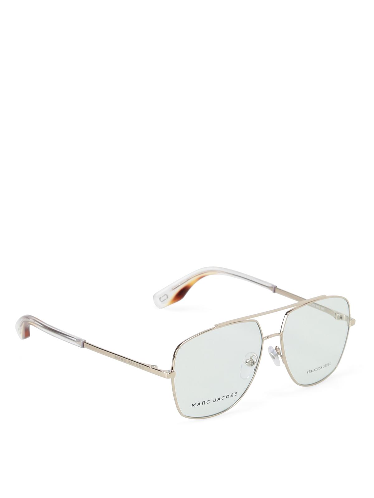 c24ae265a7 Marc Jacobs - Light Gold frame aviator glasses - glasses - MARC2713YG14