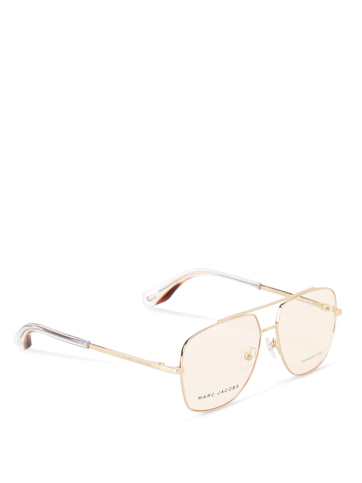Brillen - Gold von Marc Jacobs - Brillen   iKRIX