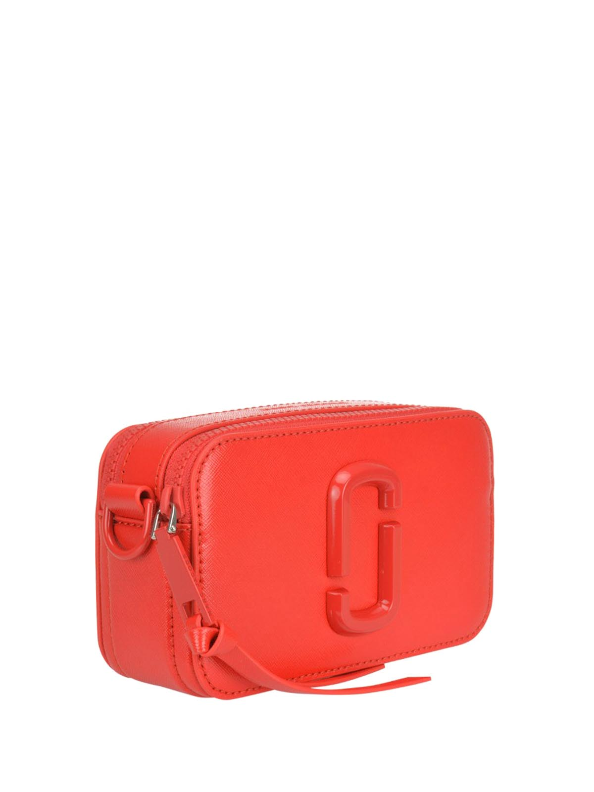 Marc Jacobs - Snapshot DTM red bag - cross body bags - M0014867612
