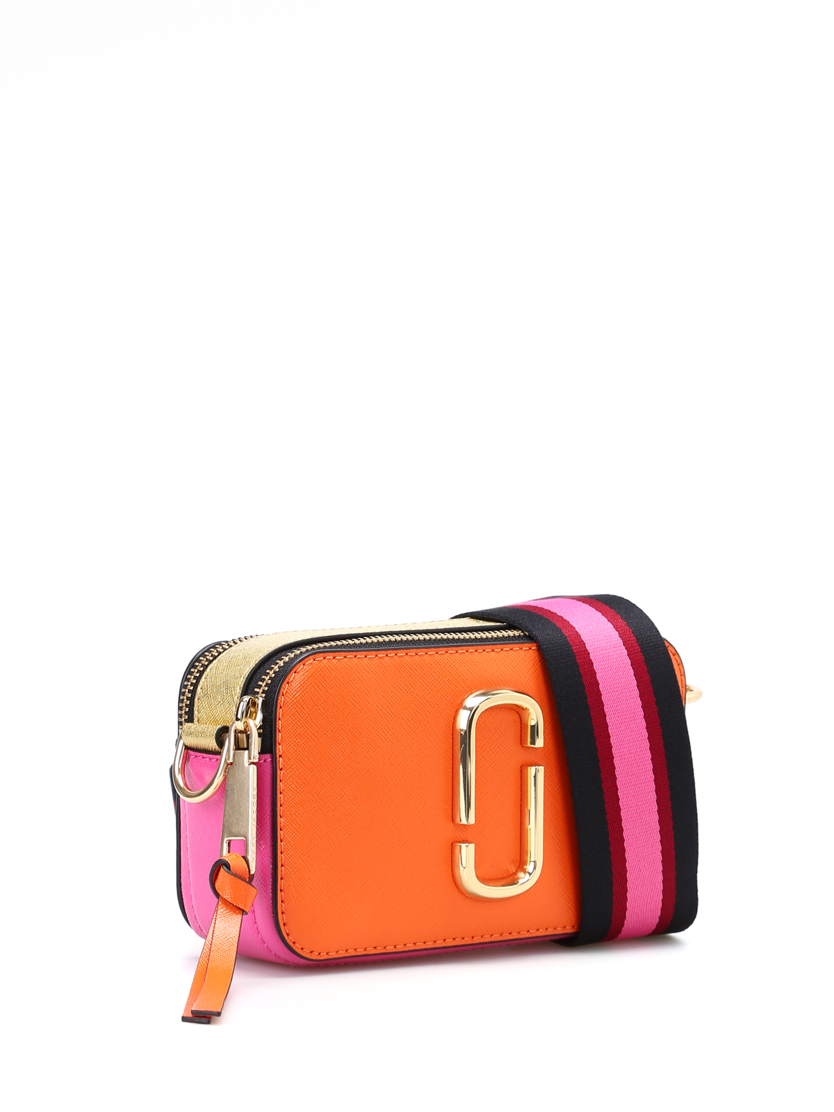 Marc Jacobs - Snapshot orange small camera bag - cross body bags ...