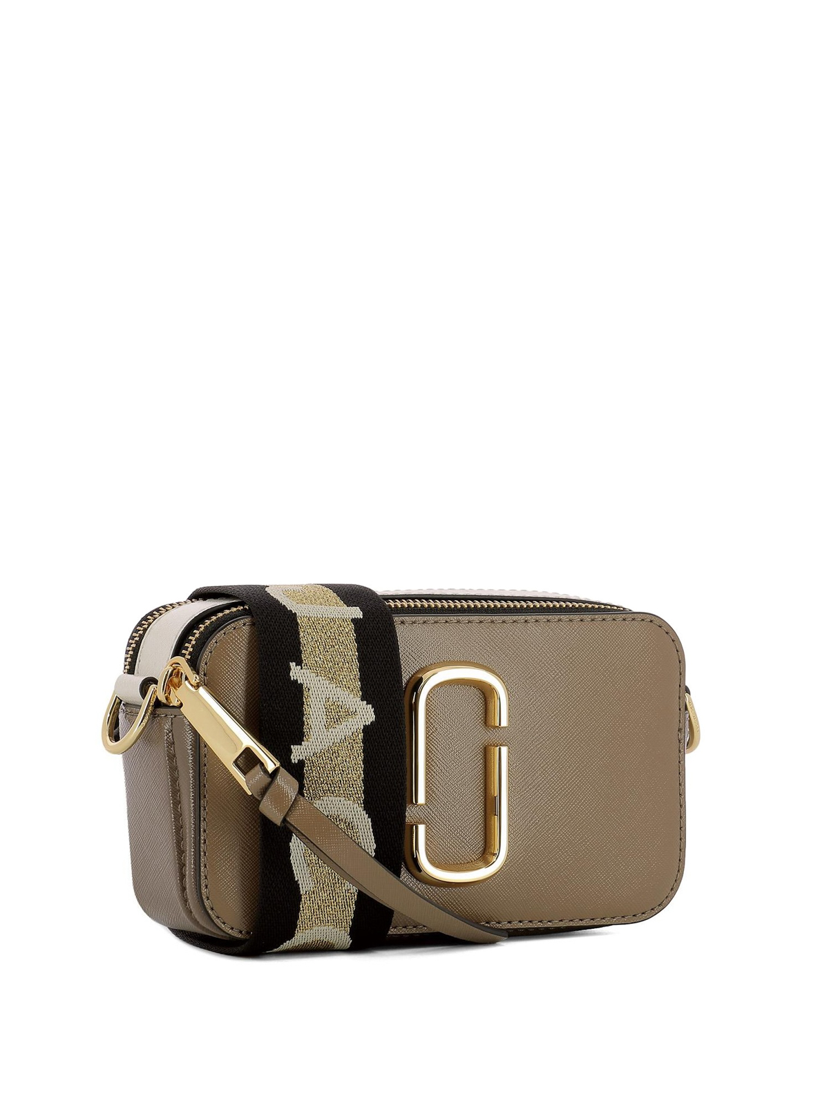 Marc Jacobs - Snapshot small leather bag - cross body bags ...