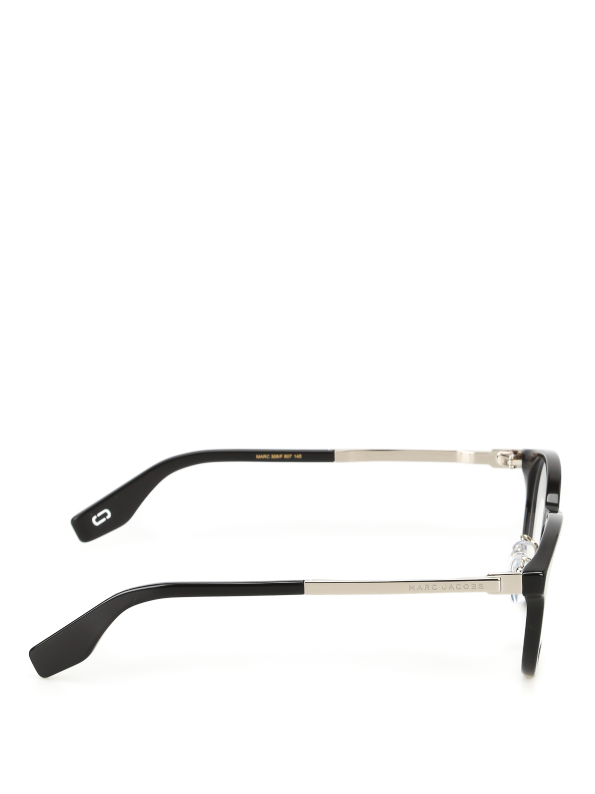 1b45e54382 Marc Jacobs - Rounded acetate frame eyeglasses - glasses - MARC308F80720
