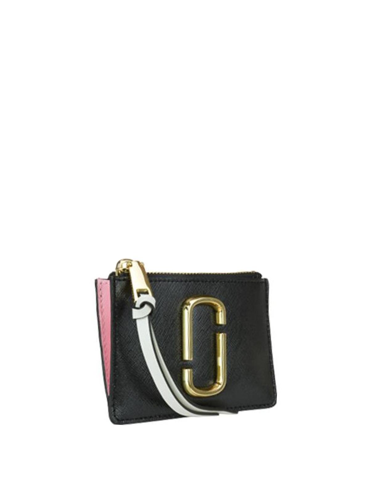 aa3d243ab8 MARC JACOBS: wallets & purses online - Multicolour Snapshot zipped wallet