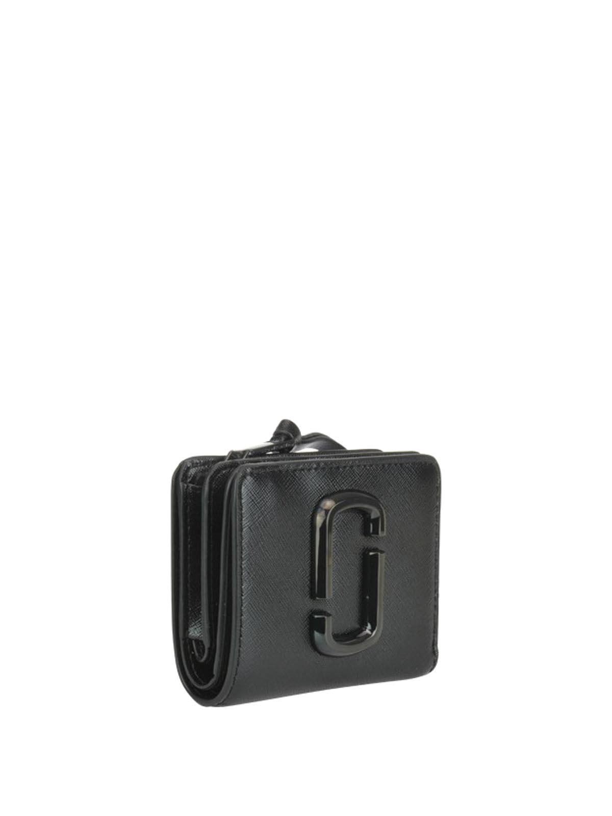 Marc Jacobs - Snapshot Dtm Mini Compact - Noir - Portefeuilles ...