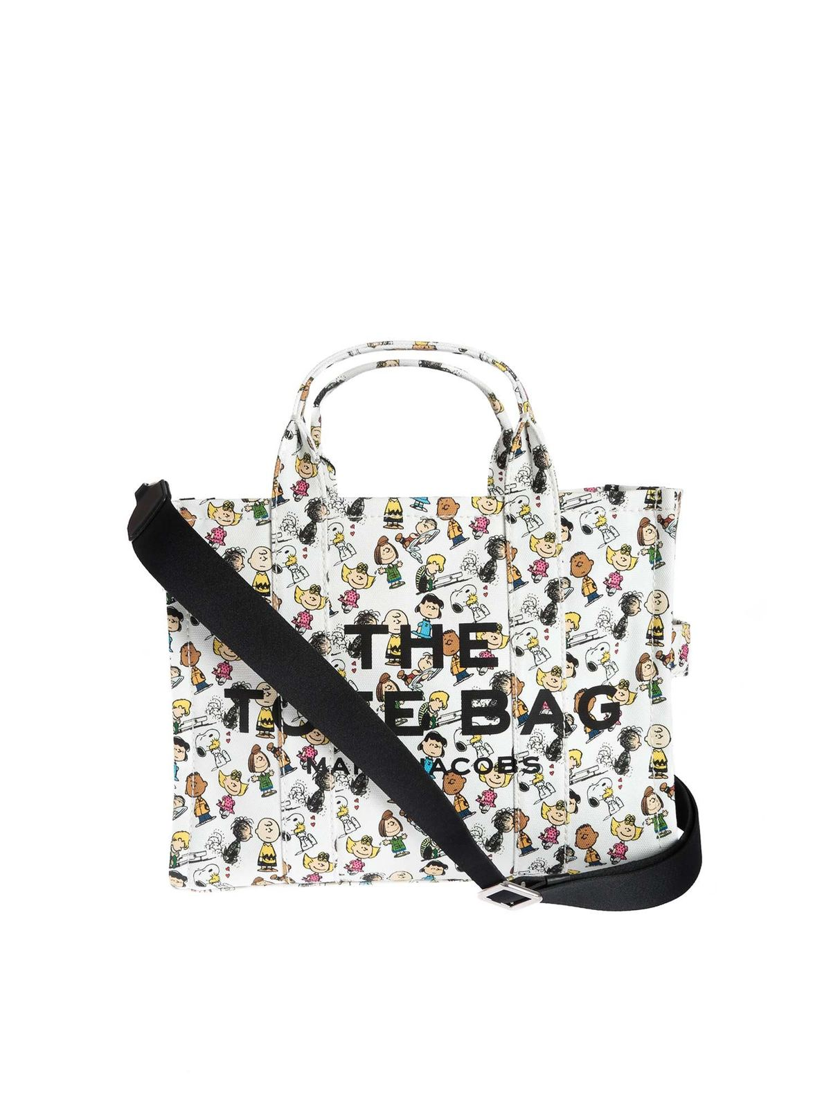 Marc Jacobs PEANUTS X THE TOTE BAG IN WHITE