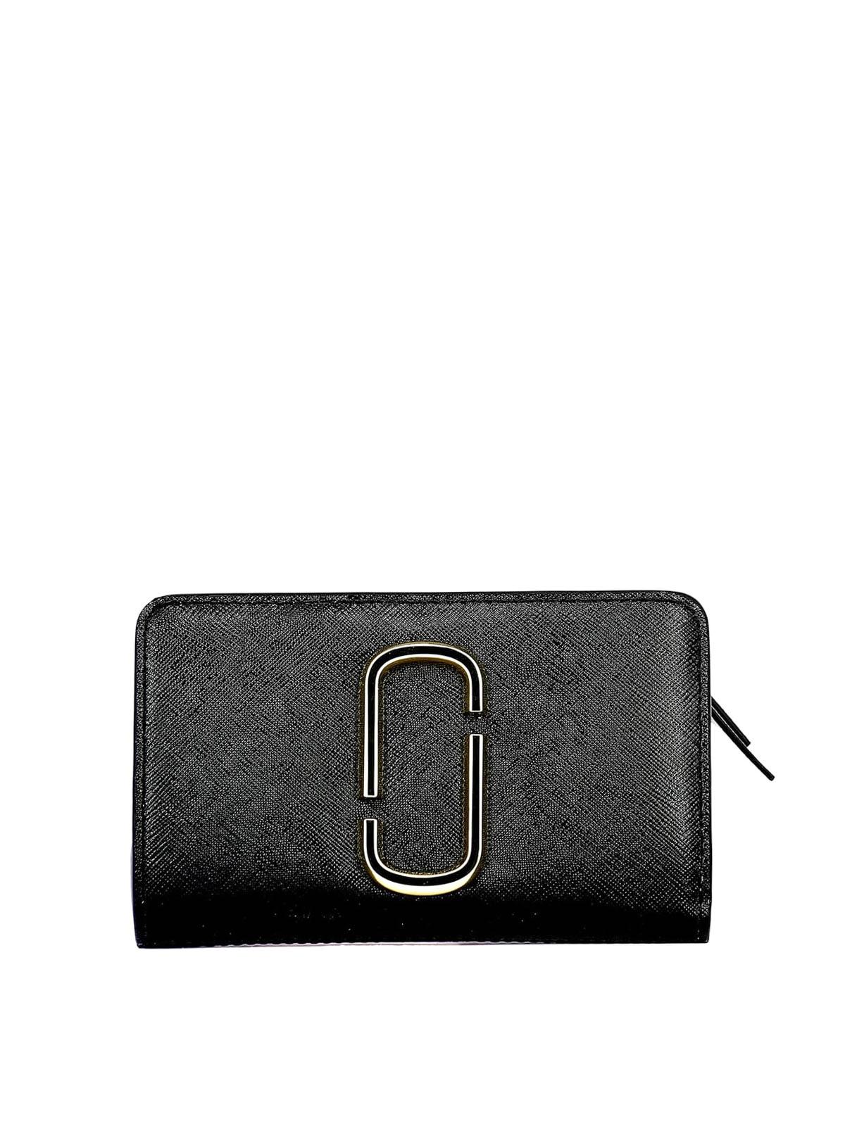 online retailer 26a8e 9b689 Marc Jacobs - Portafoglio Snapshot nero e bianco ...