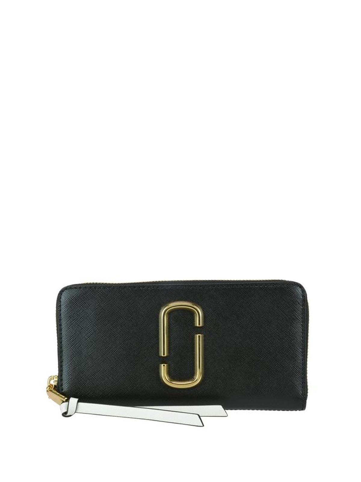 4a9943c370 Marc Jacobs - Snapshot Standard black wallet - wallets & purses ...