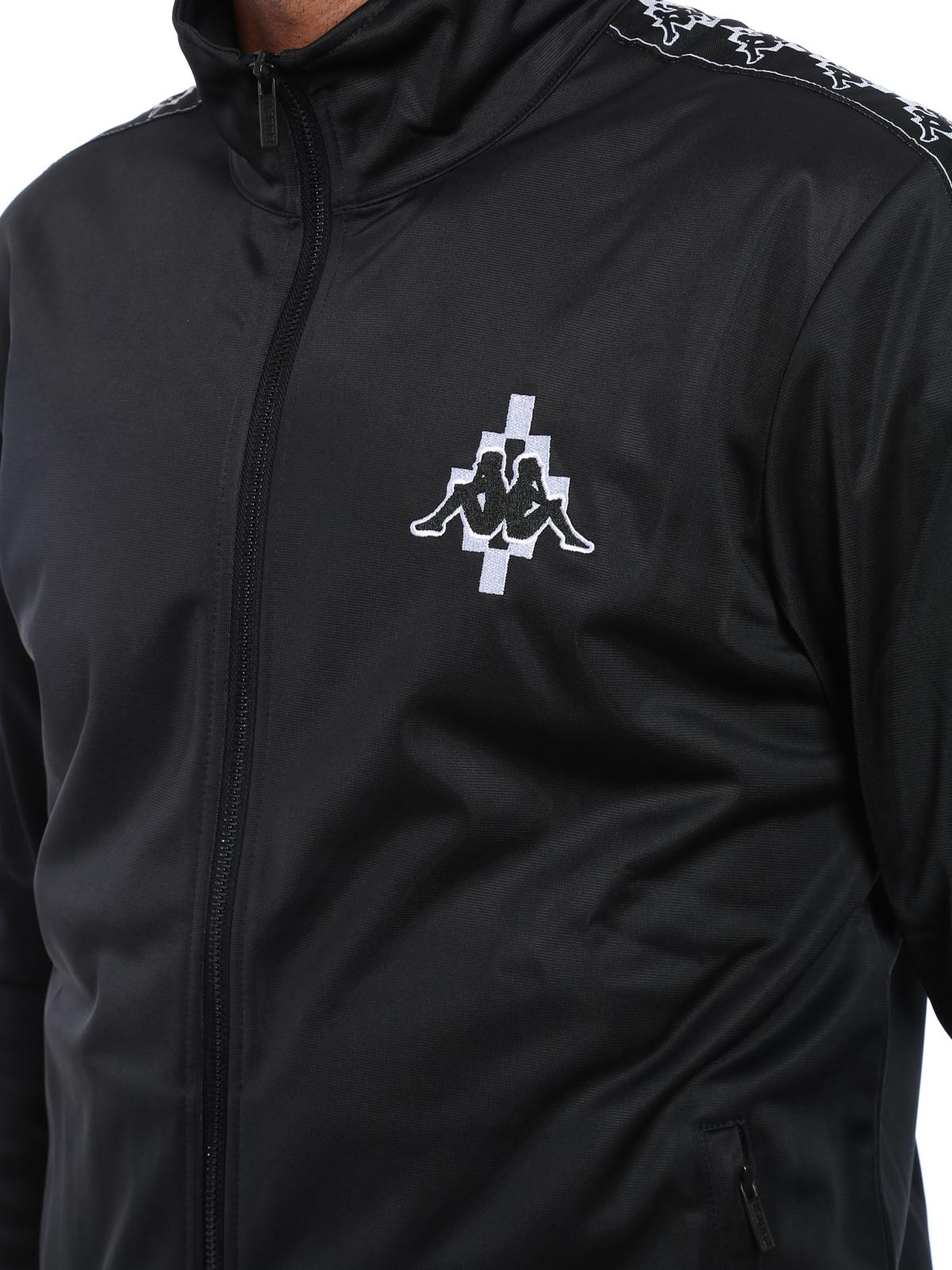 outlet 5cc25 e7d35 Marcelo Burlon - Kappa zipped sweatshirt - Sweatshirts ...