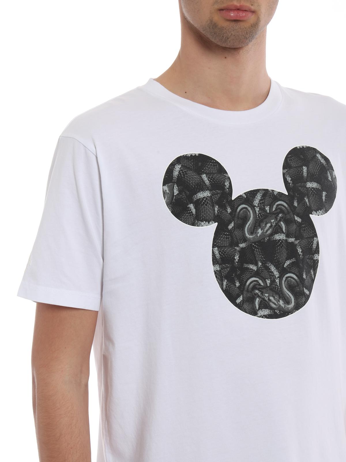 Marcelo Burlon - Camiseta - Mickey Mouse Snakes - Camisetas ...