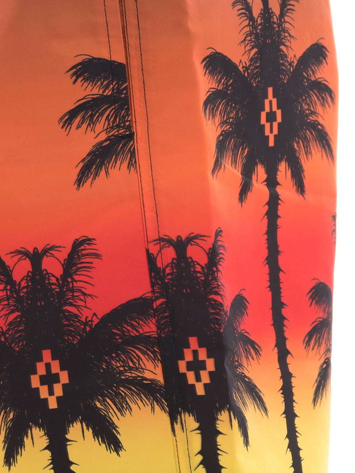 4b82d433f9 Marcelo Burlon - Palms swim shorts - Swim shorts & swimming trunks ...