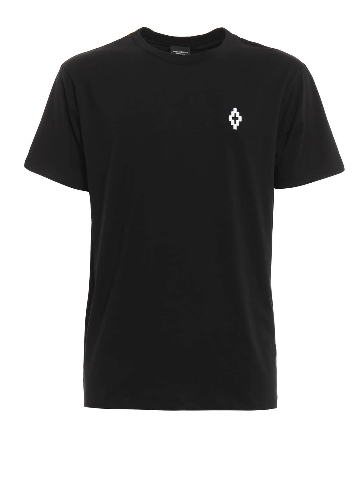 Embroidered logo cerro t shirt by marcelo burlon t for T shirt with embroidered logo