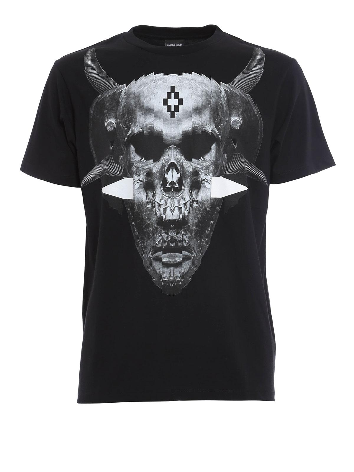 Marcello Burlon T Shirt 6am Mall Com